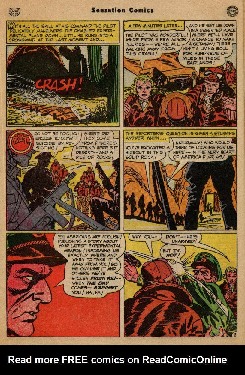 Read online Sensation (Mystery) Comics comic -  Issue #100 - 24