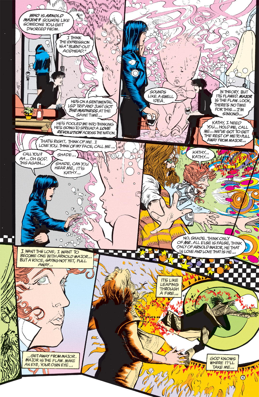 Read online Shade, the Changing Man comic -  Issue #9 - 4