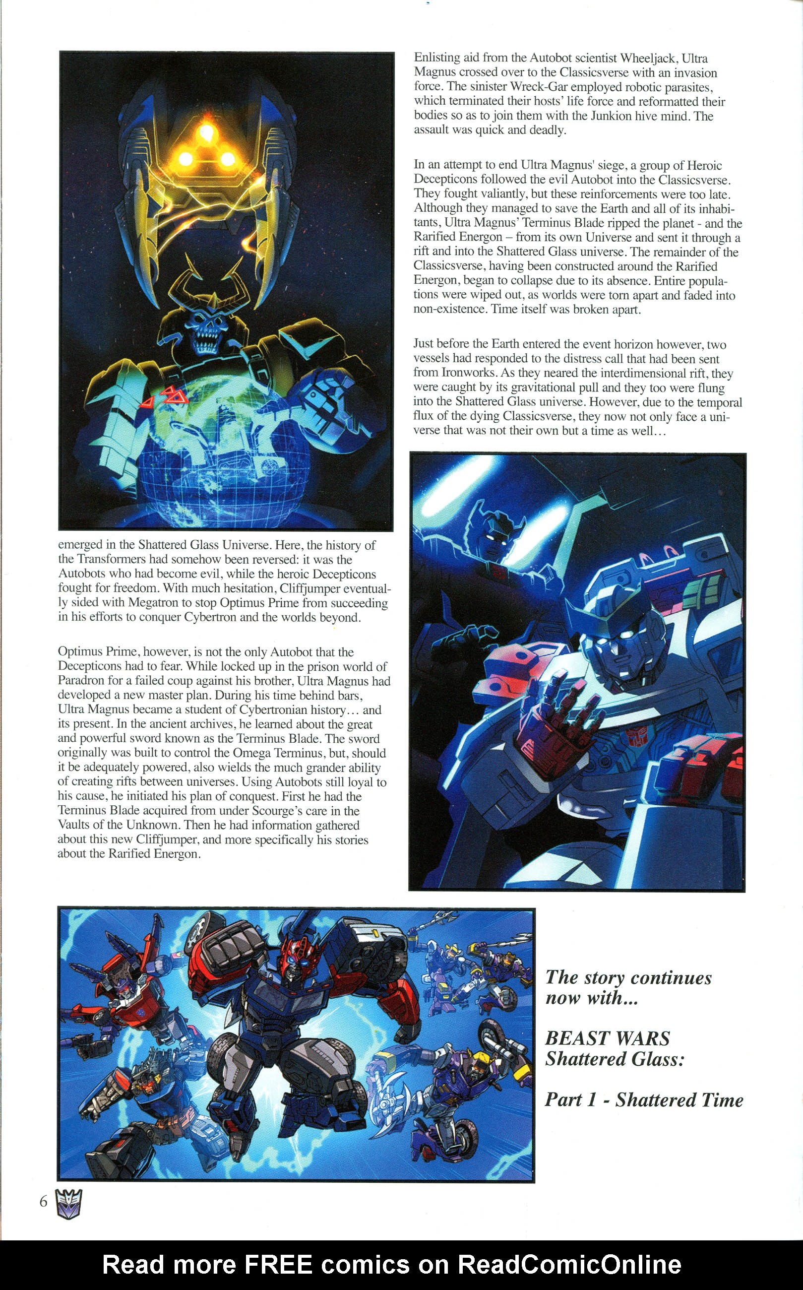 Read online Transformers: Collectors' Club comic -  Issue #49 - 6