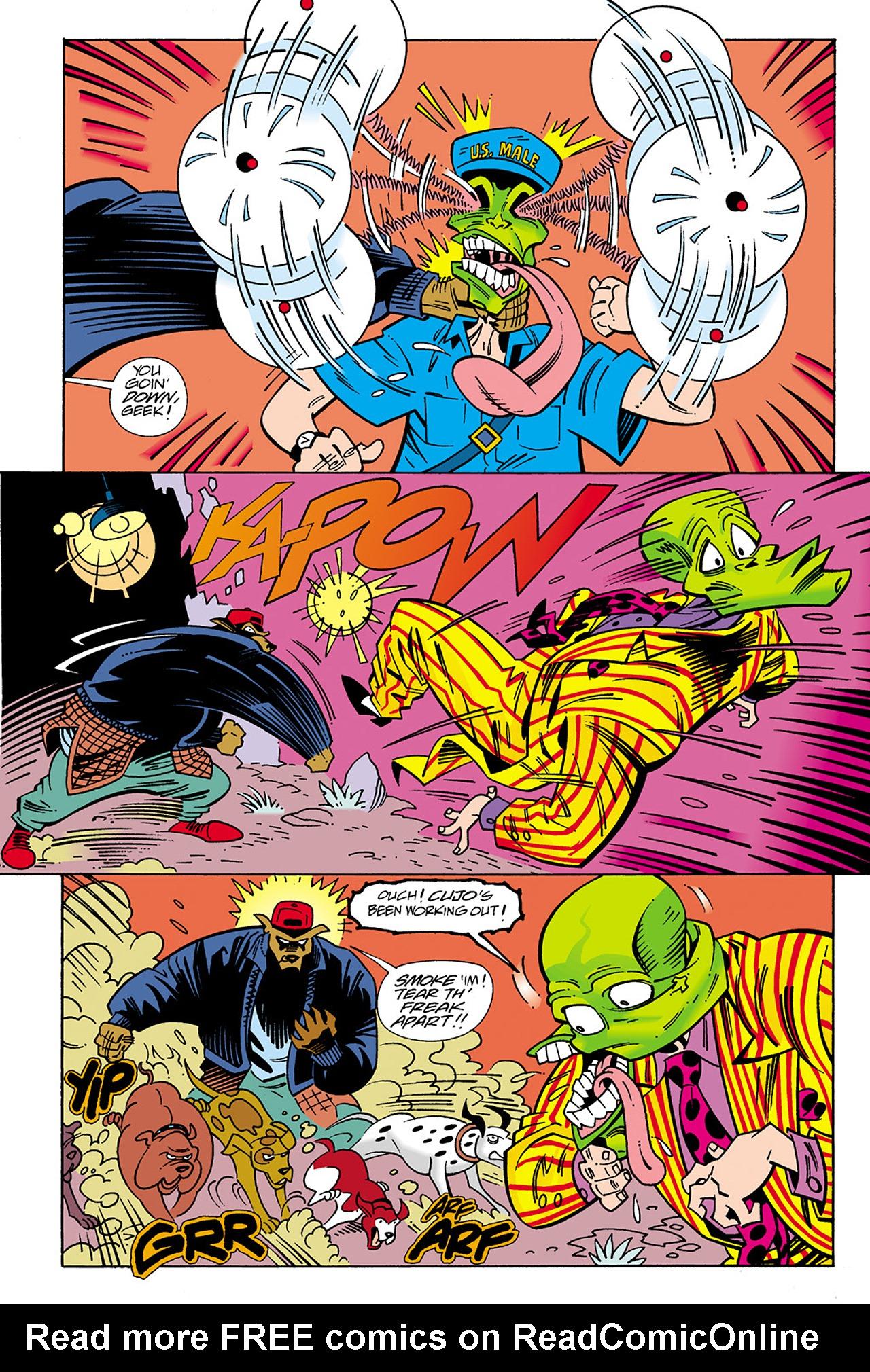Read online Adventures Of The Mask Omnibus comic -  Issue #Adventures Of The Mask Omnibus Full - 129