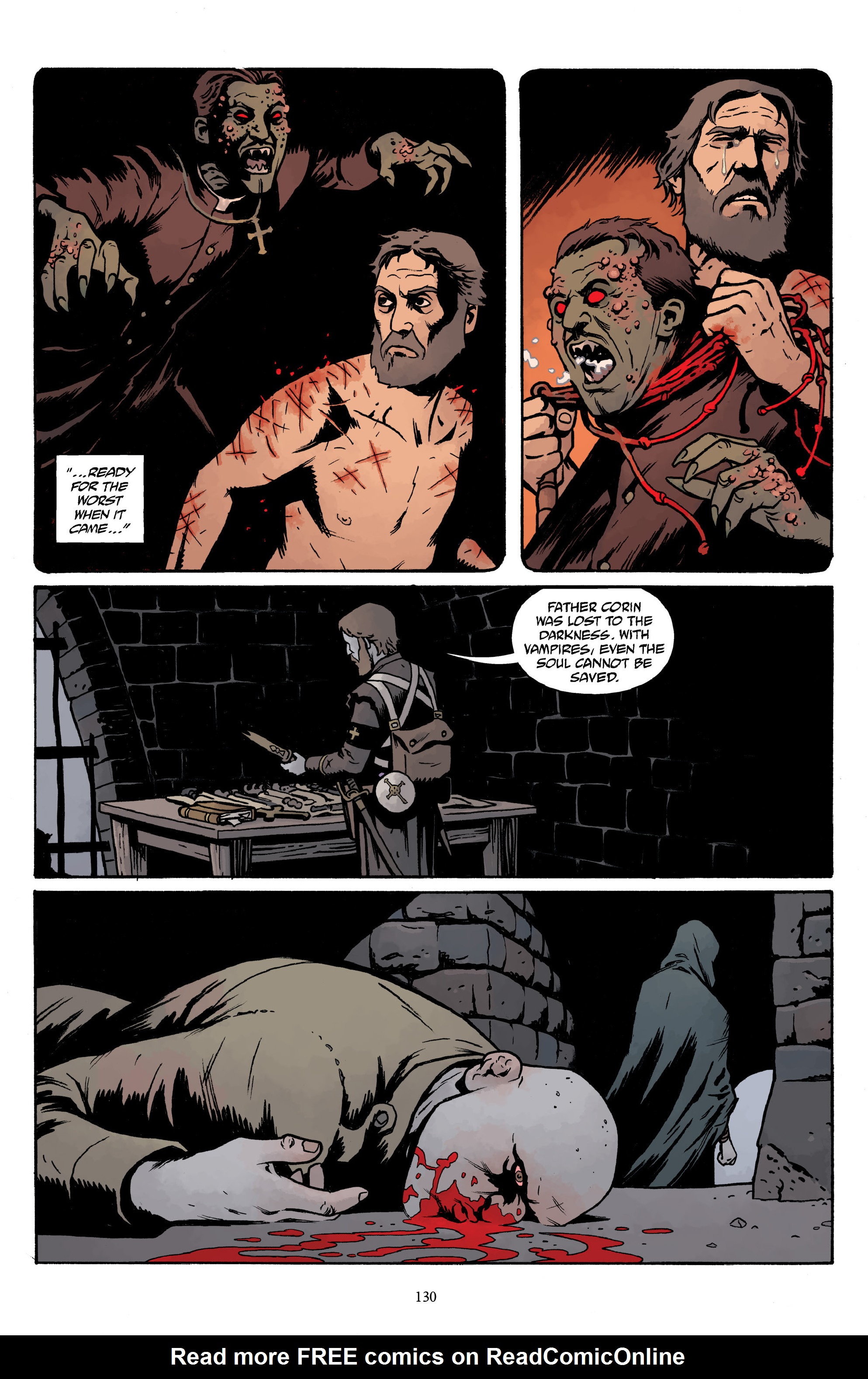 Read online Baltimore Volume 3: A Passing Stranger and Other Stories comic -  Issue # Full - 132