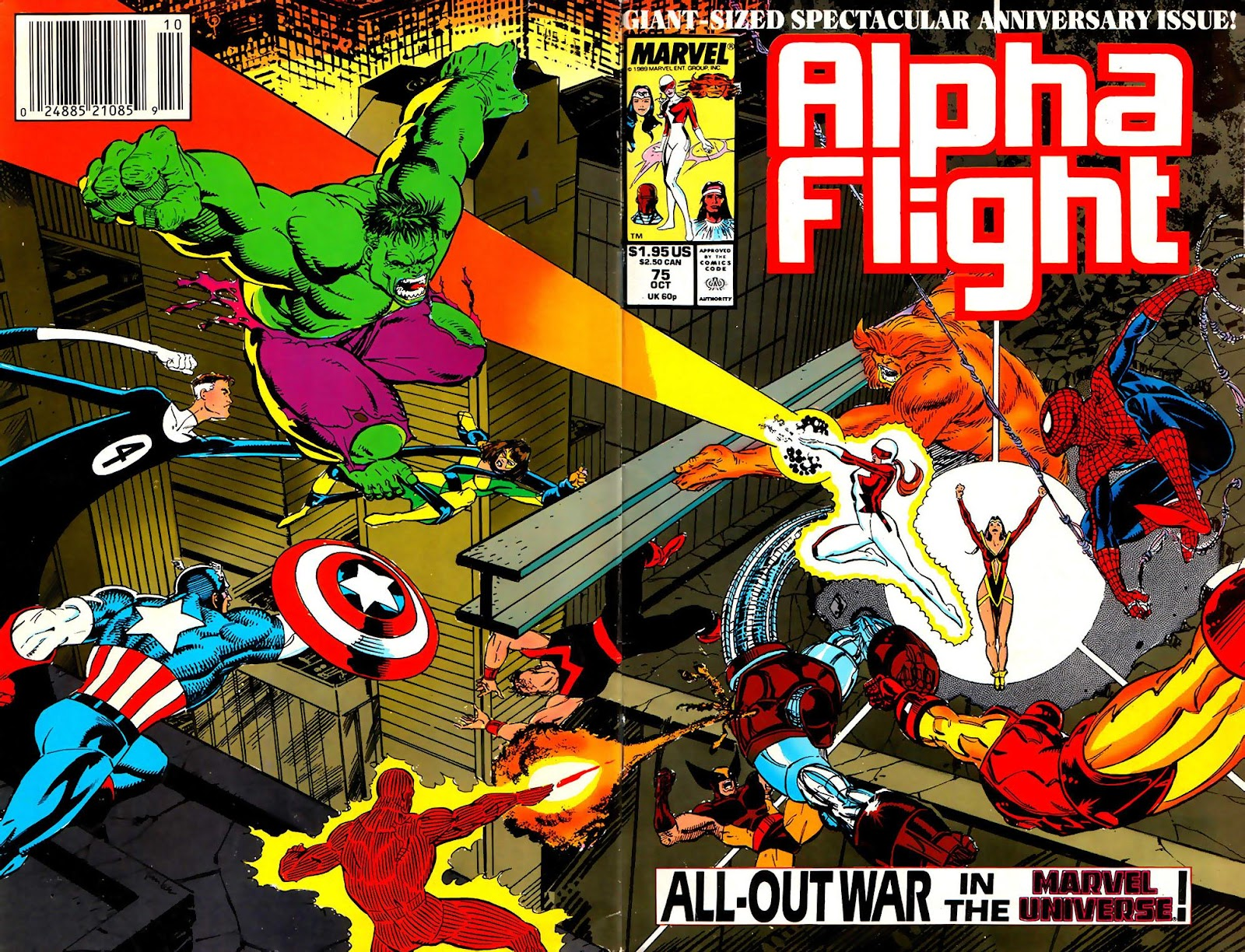 Alpha Flight (1983) issue 75 - Page 1
