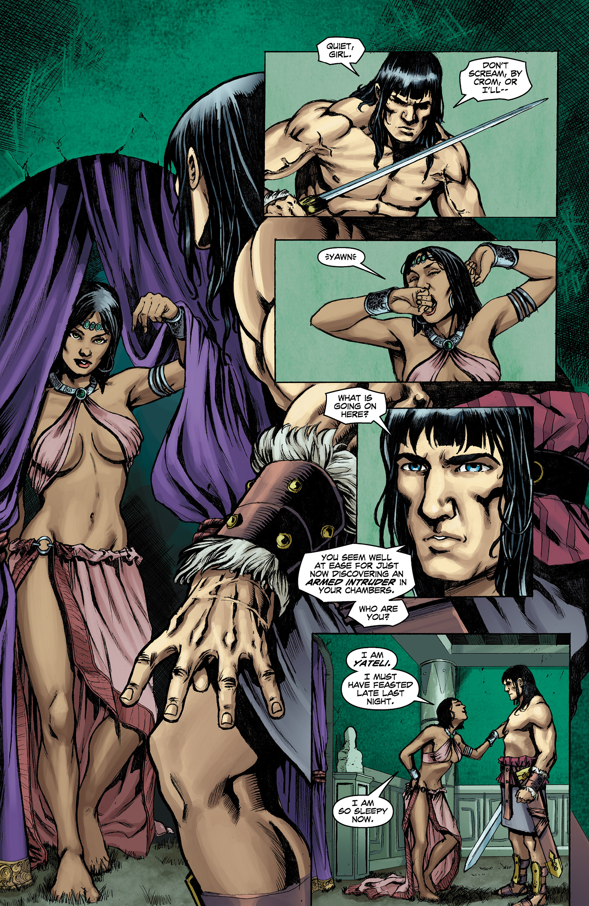 Read online Conan The Slayer comic -  Issue #9 - 8