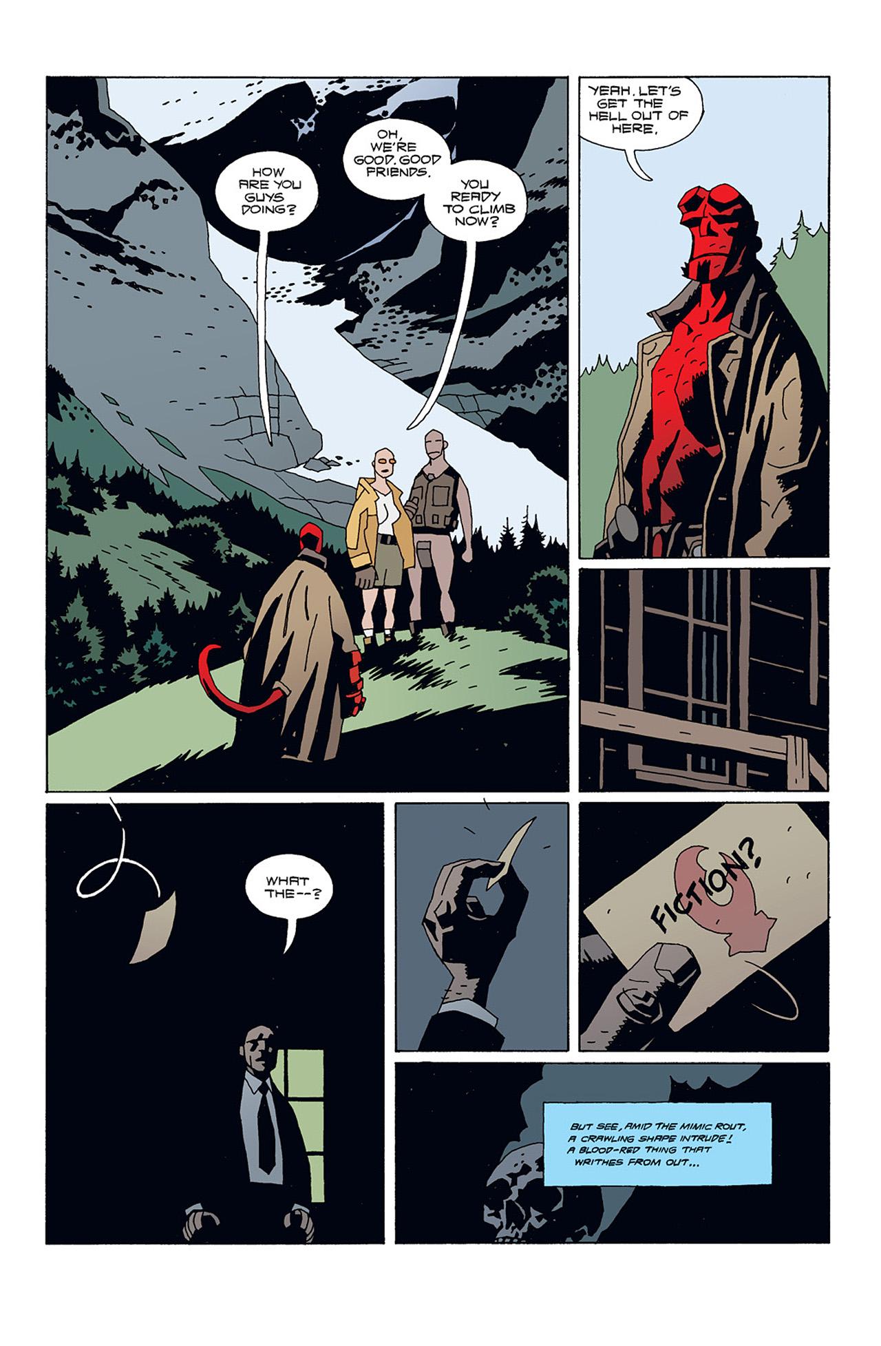 Read online Hellboy: Conqueror Worm comic -  Issue #1 - 17