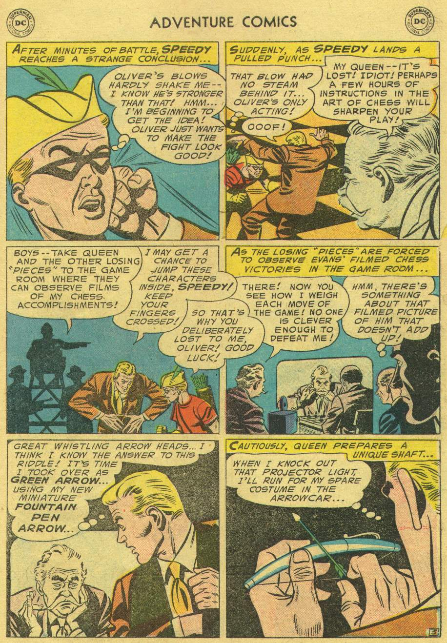 Read online Adventure Comics (1938) comic -  Issue #219 - 31