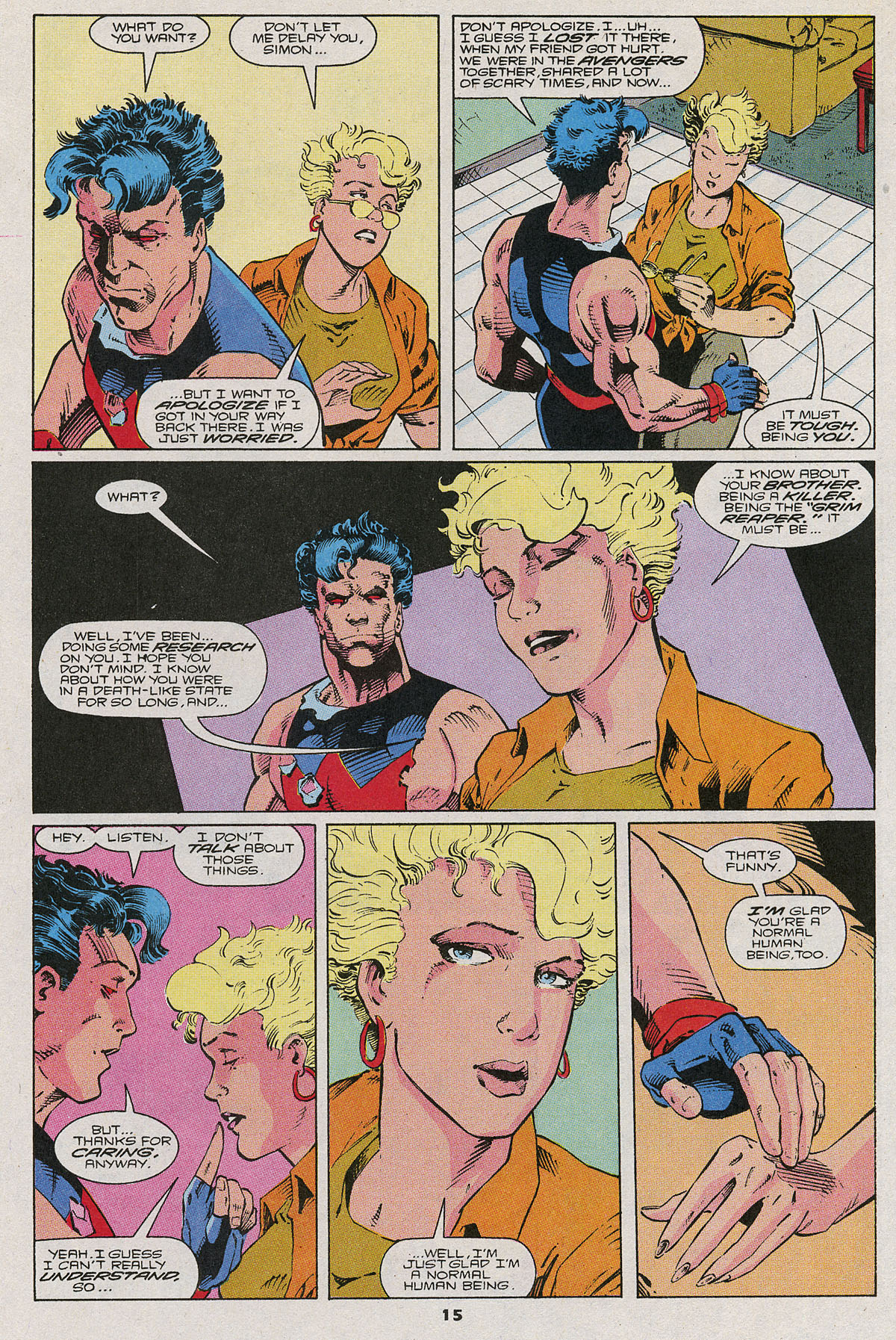 Read online Wonder Man (1991) comic -  Issue #6 - 12