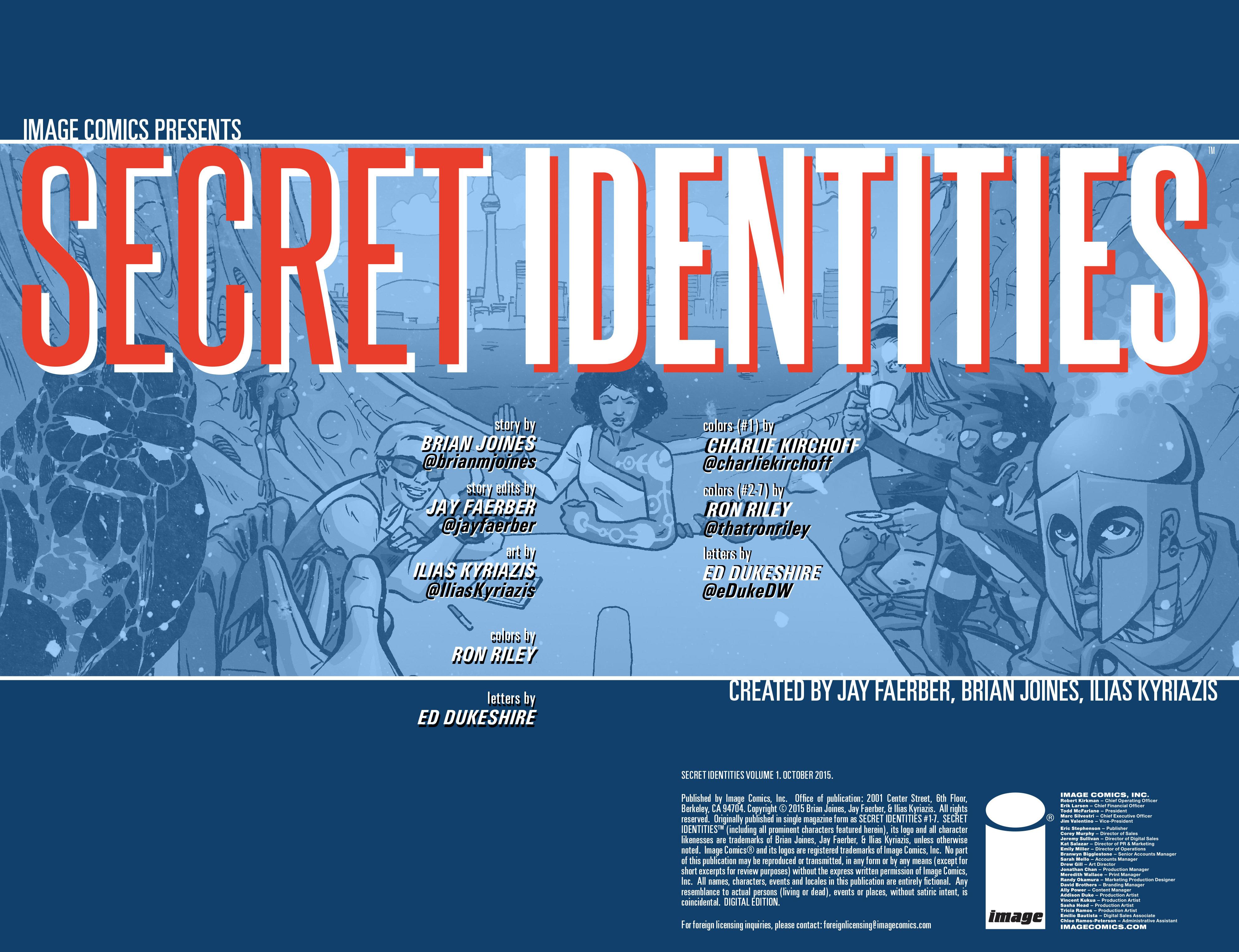 Read online Secret Identities comic -  Issue # _TPB - 4