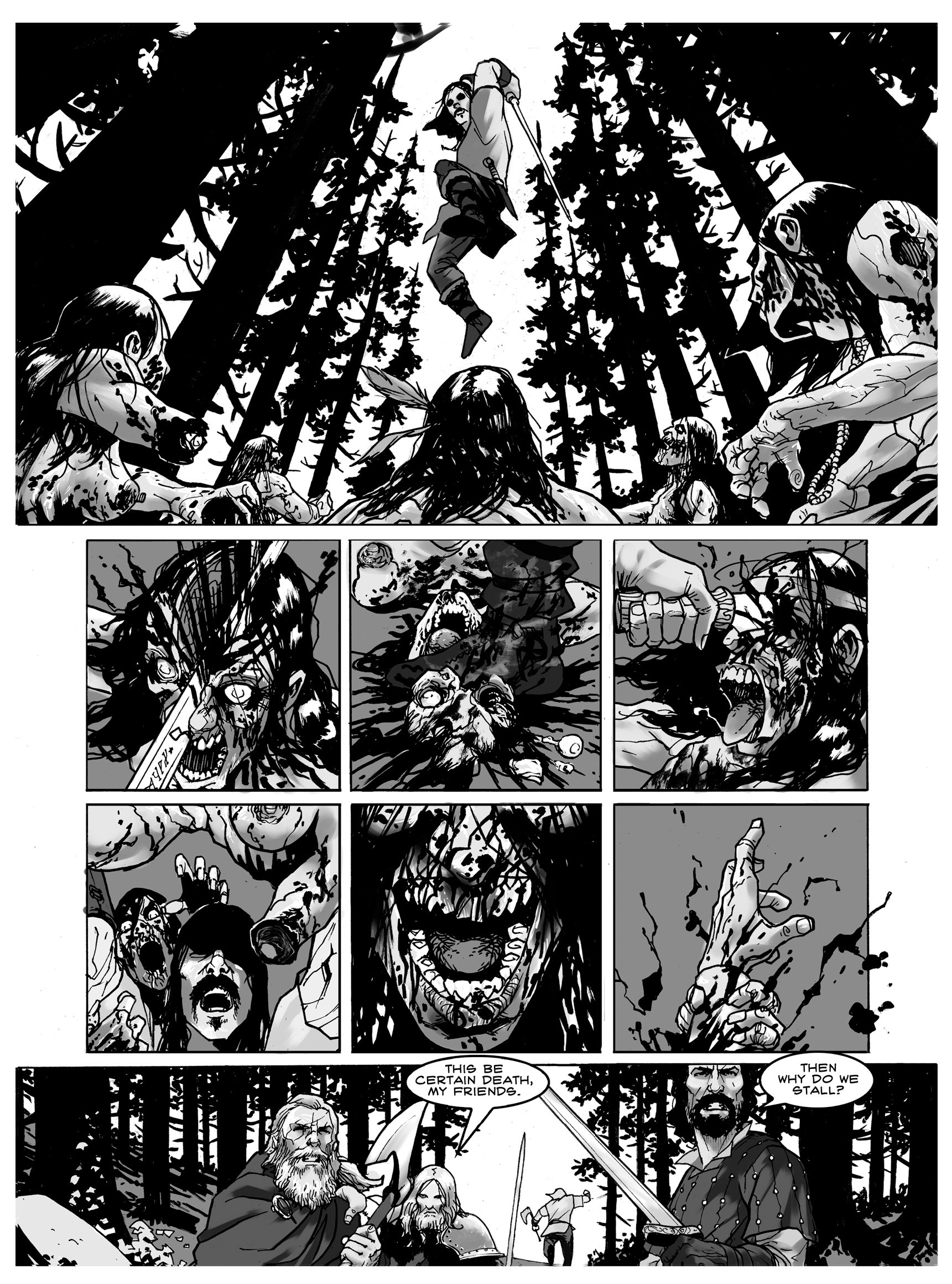 Read online FUBAR comic -  Issue #3 - 11