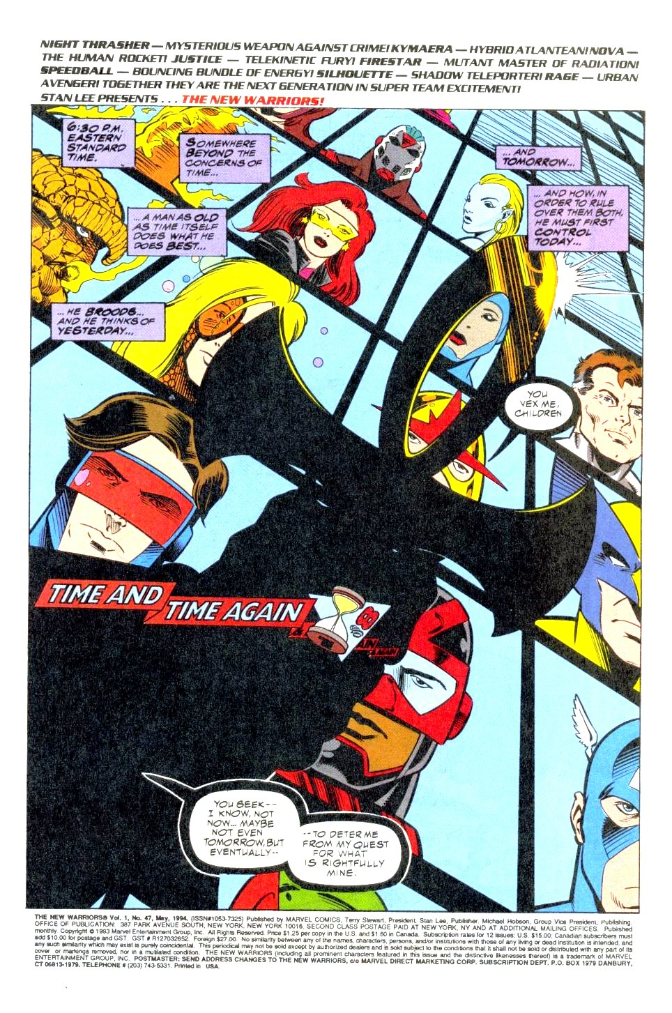 The New Warriors Issue #47 #51 - English 2