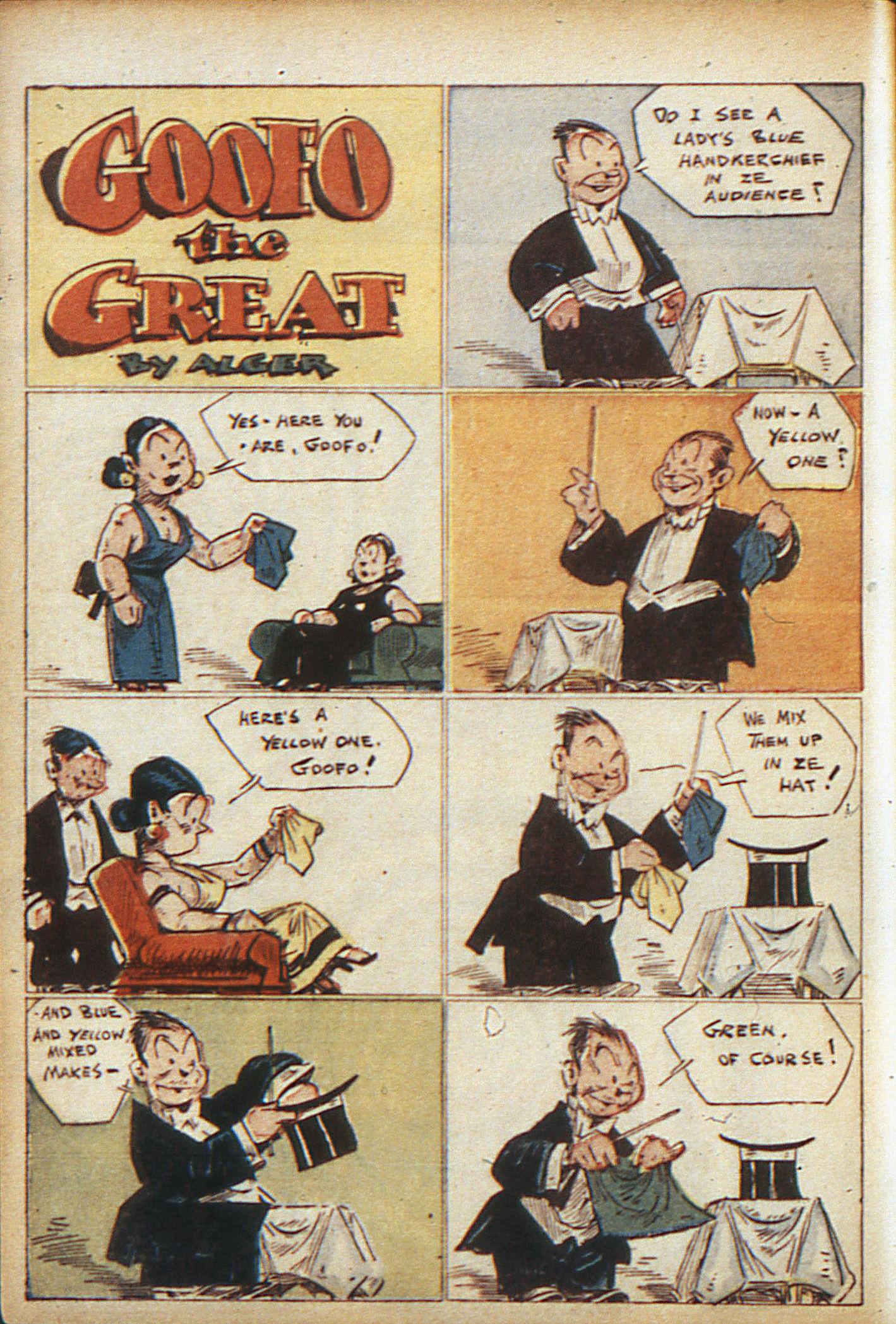 Read online Adventure Comics (1938) comic -  Issue #10 - 9