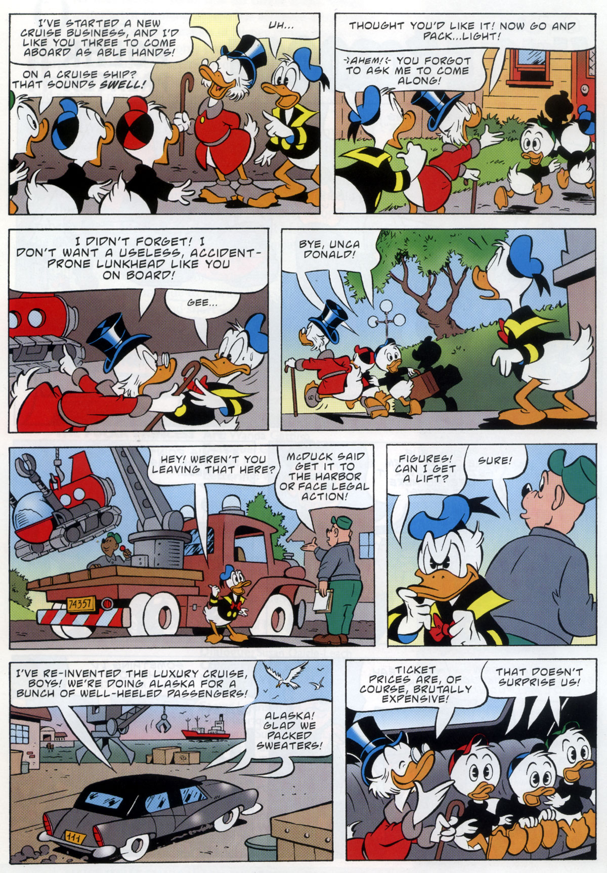 Read online Uncle Scrooge (1953) comic -  Issue #333 - 4