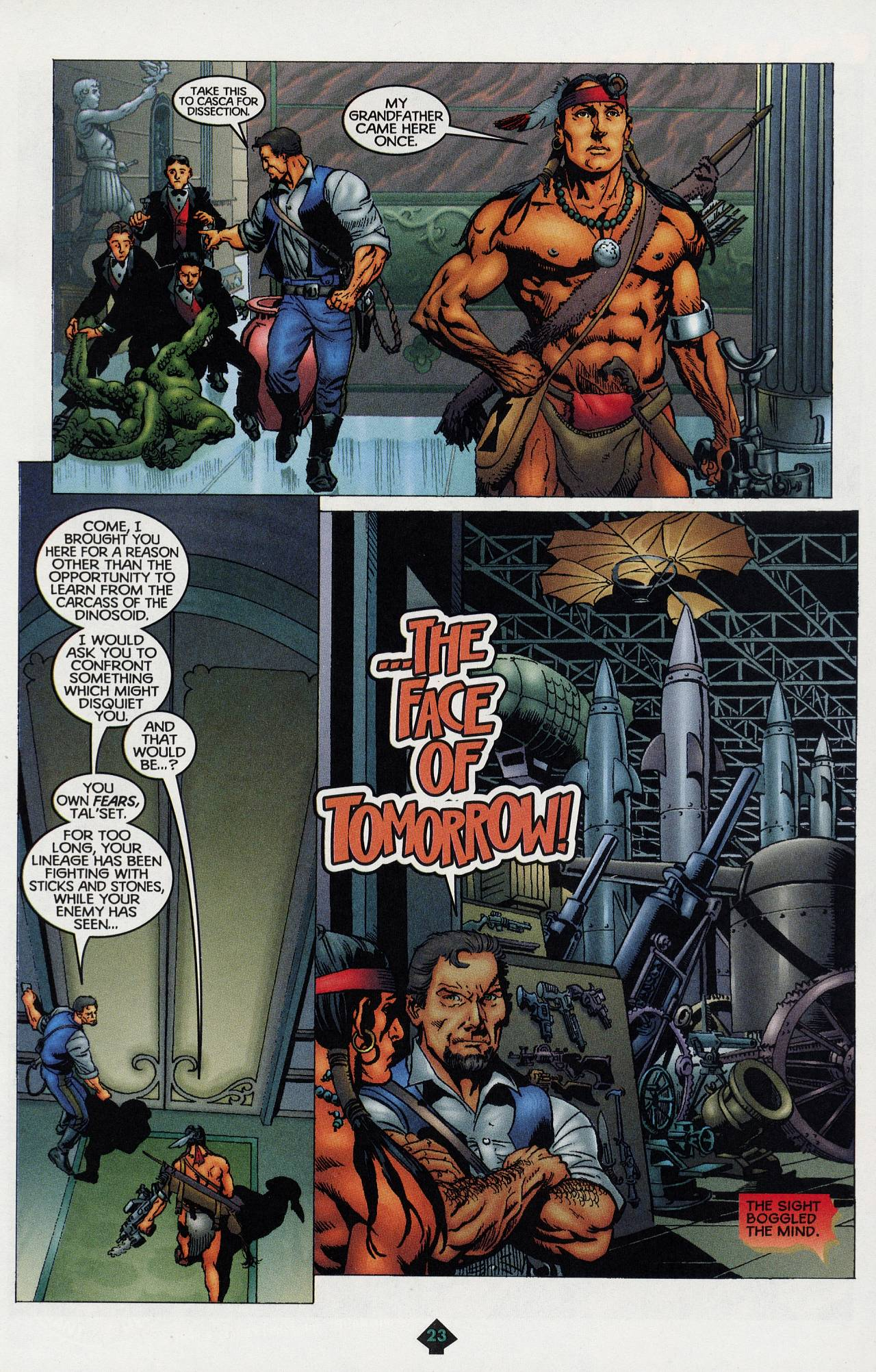 Read online Turok: Tales of the Lost Land comic -  Issue # Full - 21