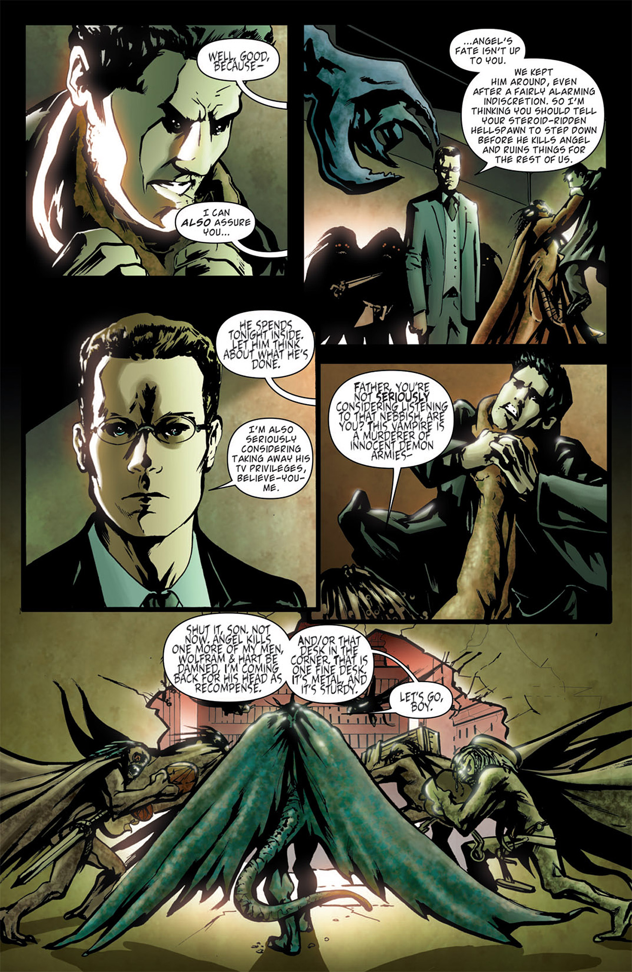 Read online Angel: After The Fall comic -  Issue #1 - 11