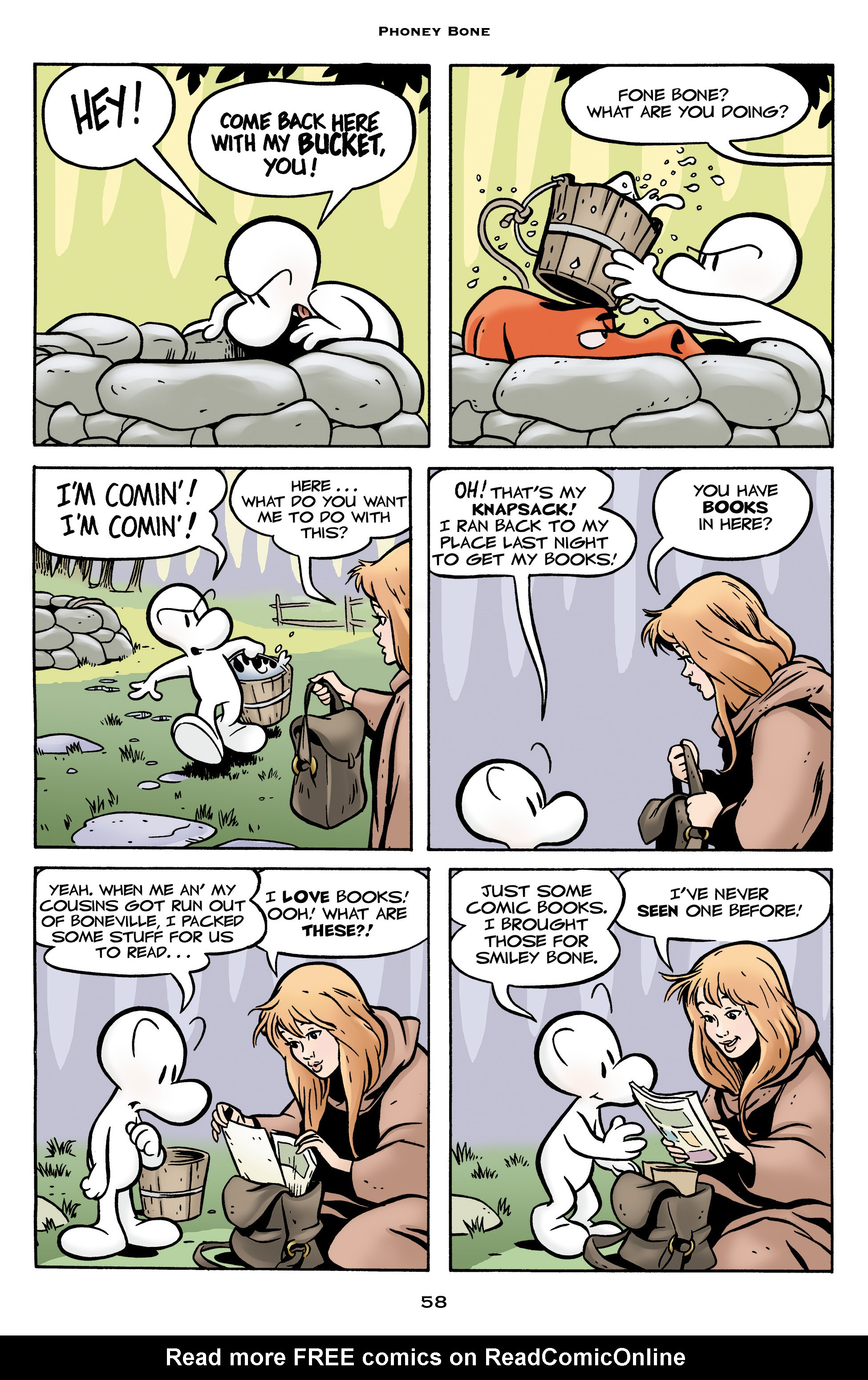 Read online Bone: Out From Boneville comic -  Issue # TPB - 58
