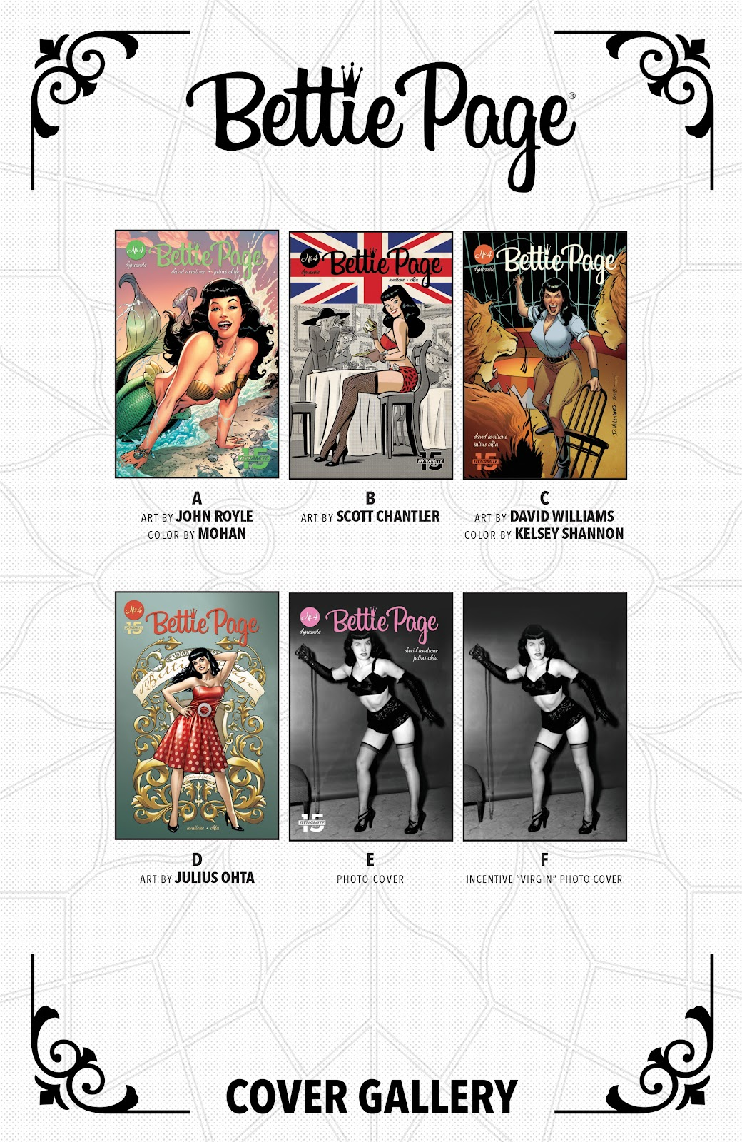 Read online Bettie Page (2018) comic -  Issue #4 - 28