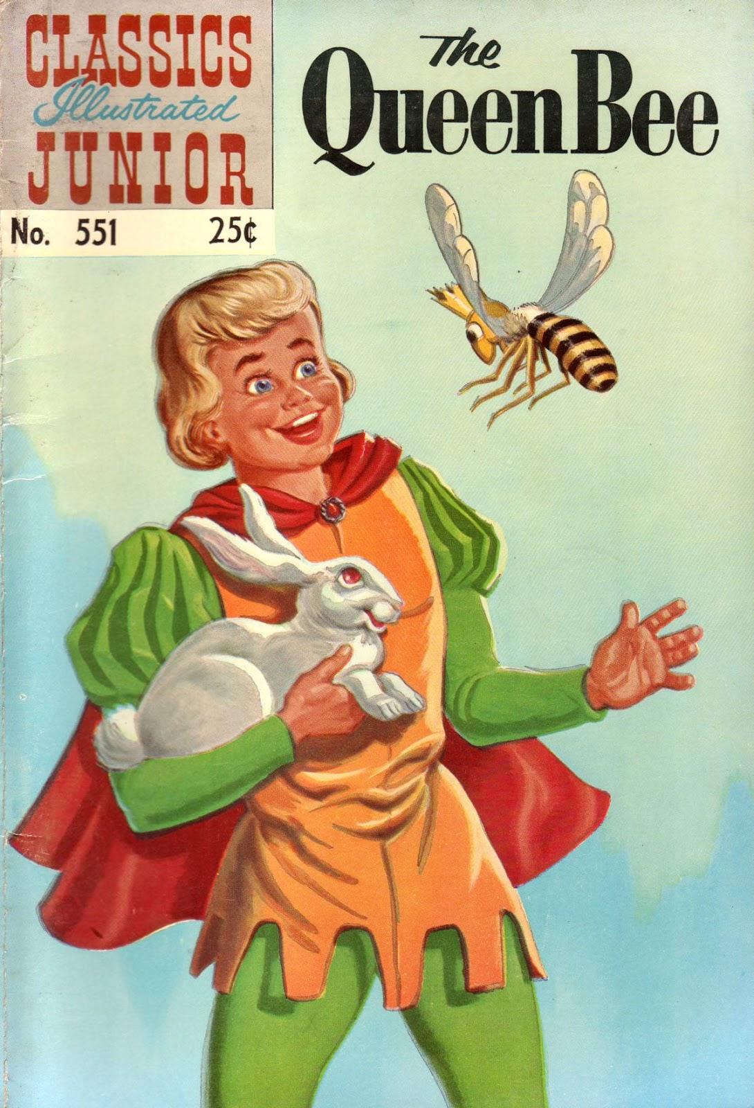 Classics Illustrated Junior 551 Page 1