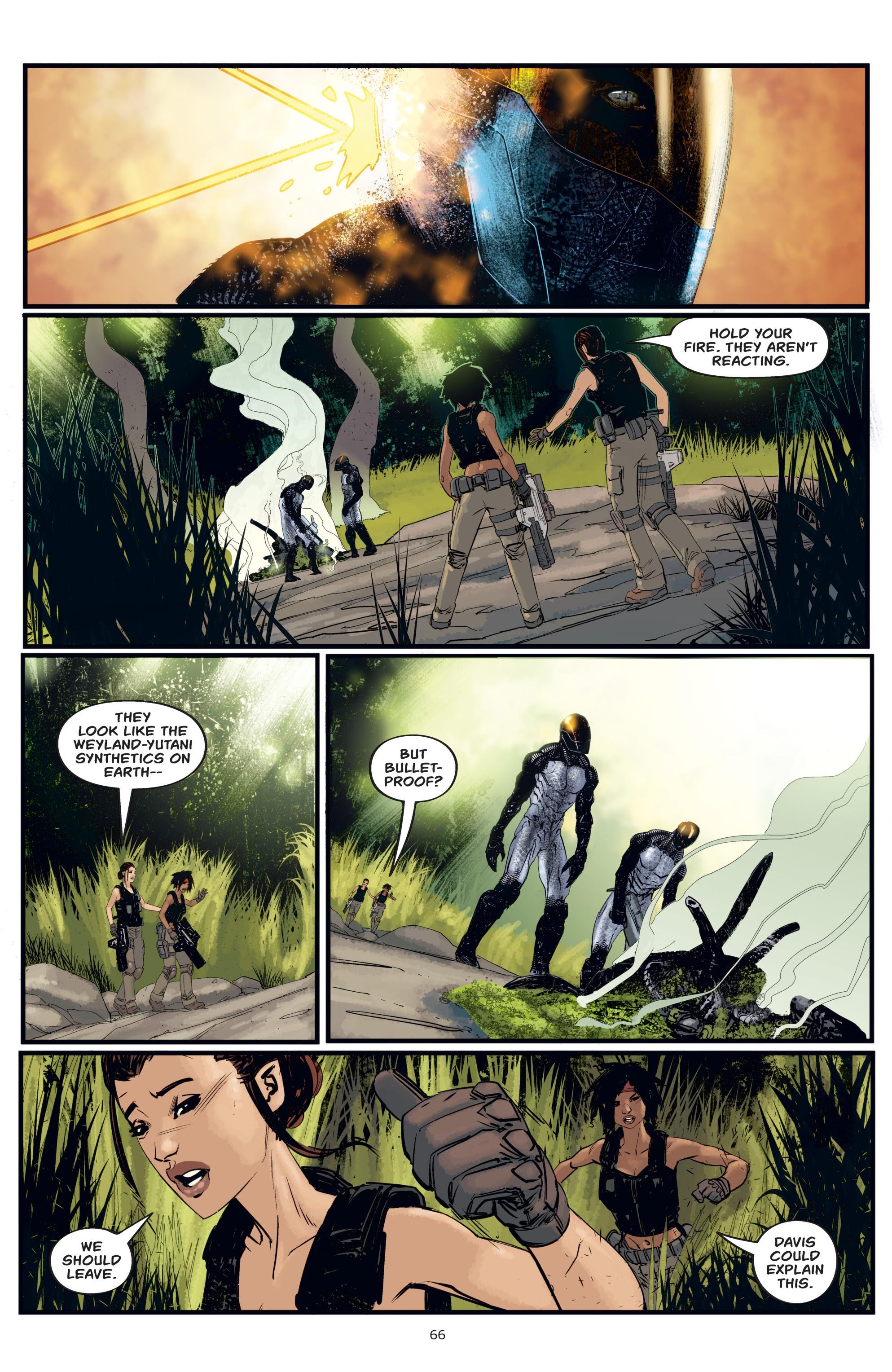 Read online Aliens: Resistance comic -  Issue # _TPB - 66