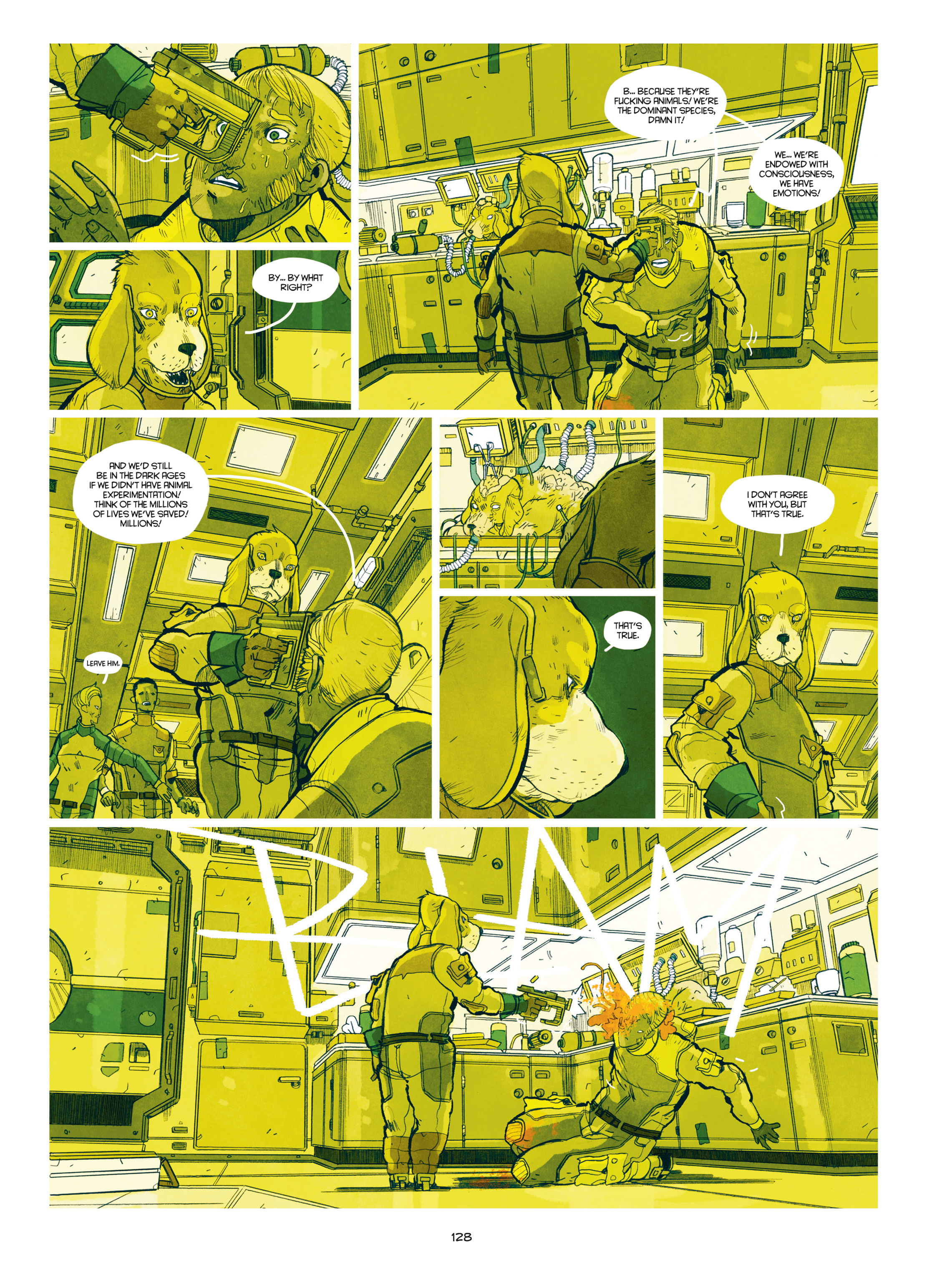 Read online Shangri-La comic -  Issue # Full - 129