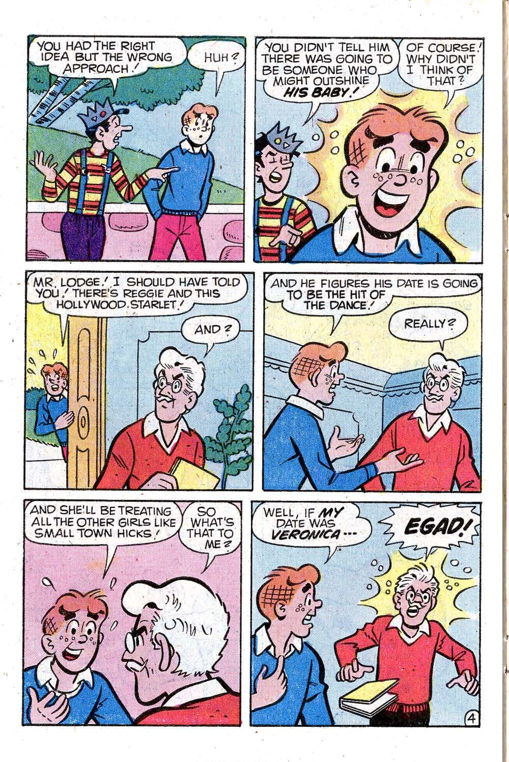 Read online Archie (1960) comic -  Issue #287 - 6
