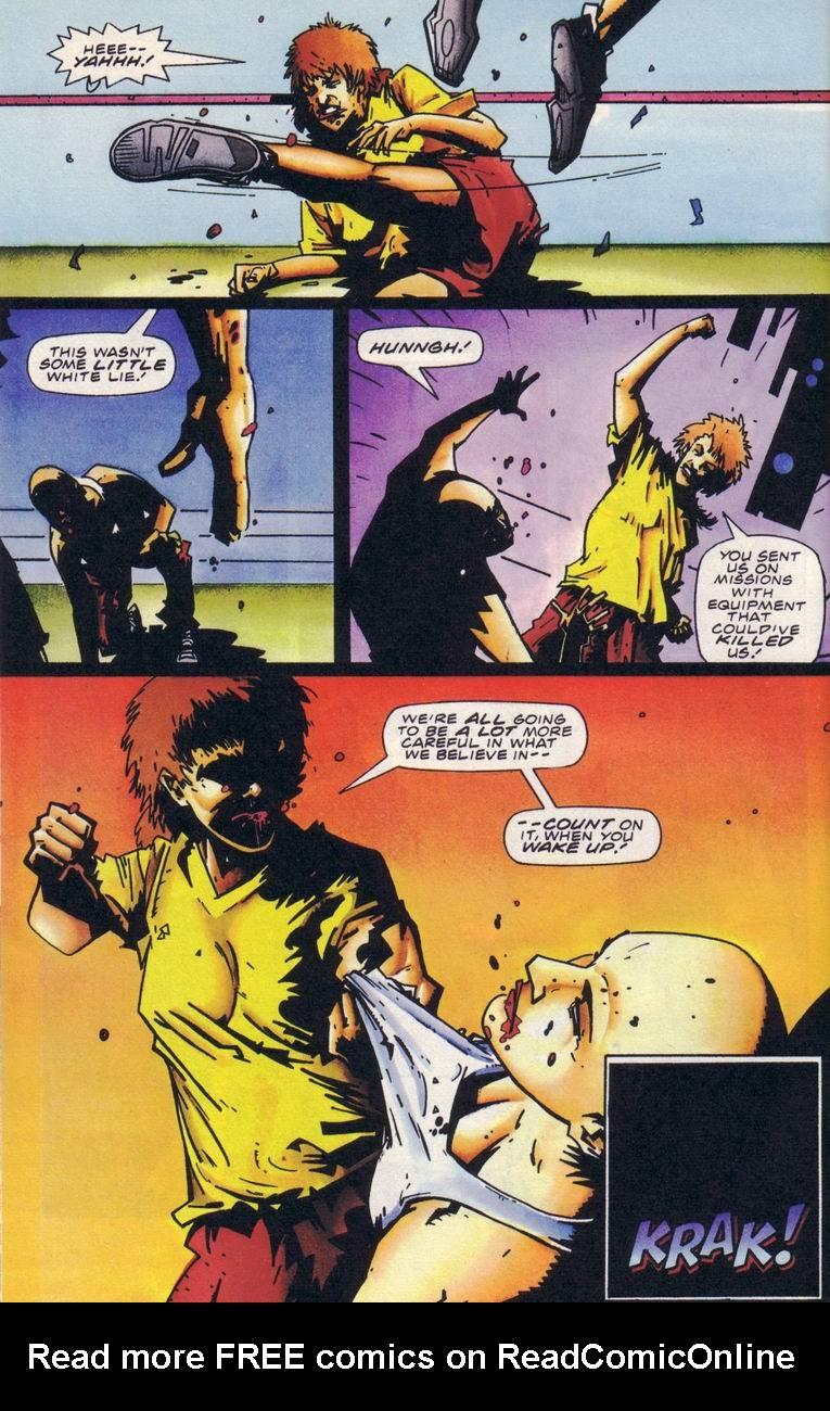 Read online Secret Weapons comic -  Issue #18 - 19