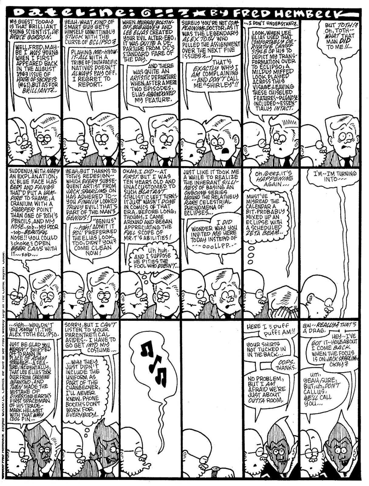 Read online The Nearly Complete Essential Hembeck Archives Omnibus comic -  Issue # TPB (Part 7) - 10