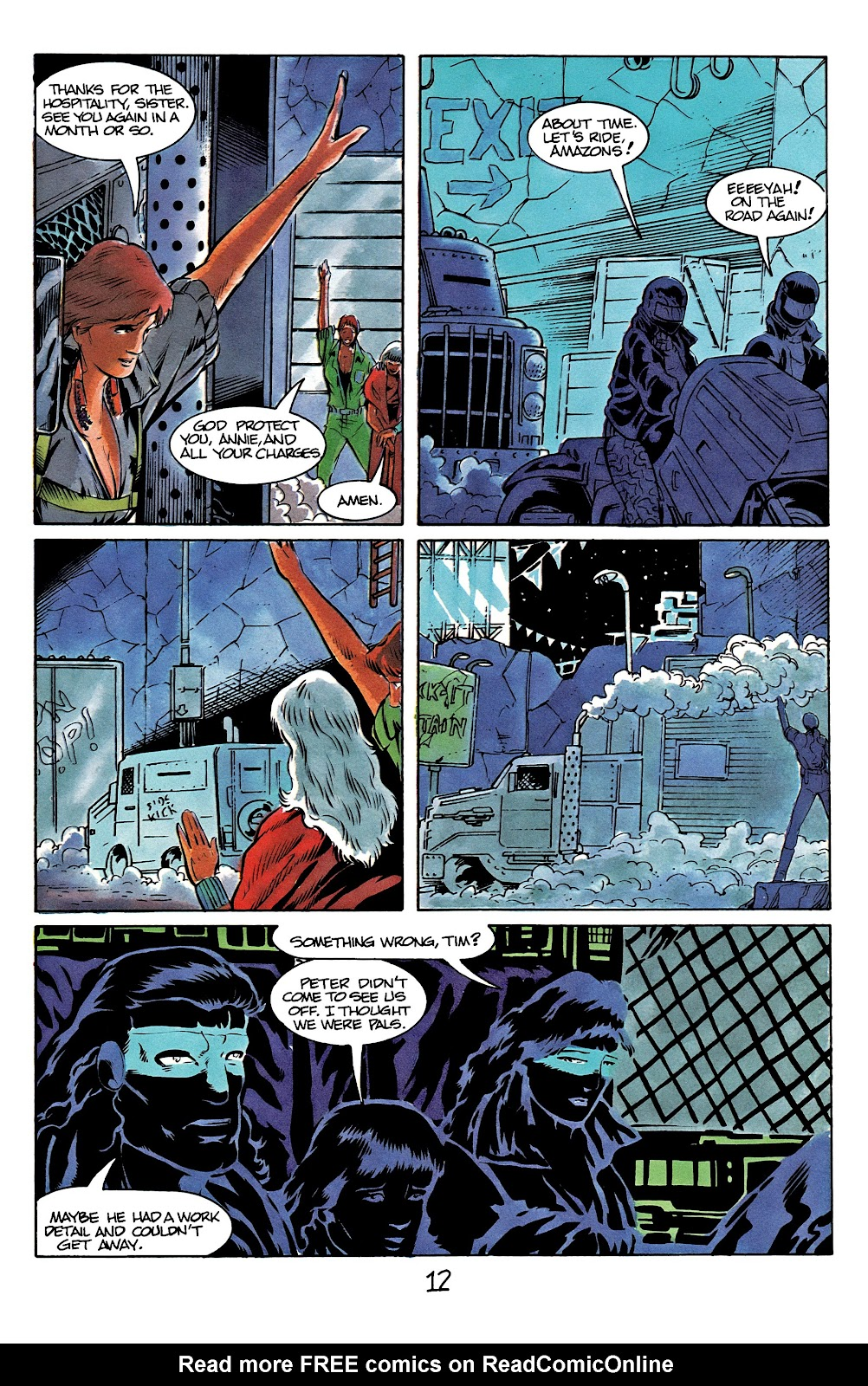 The Terminator (1988) issue 12 - Page 16