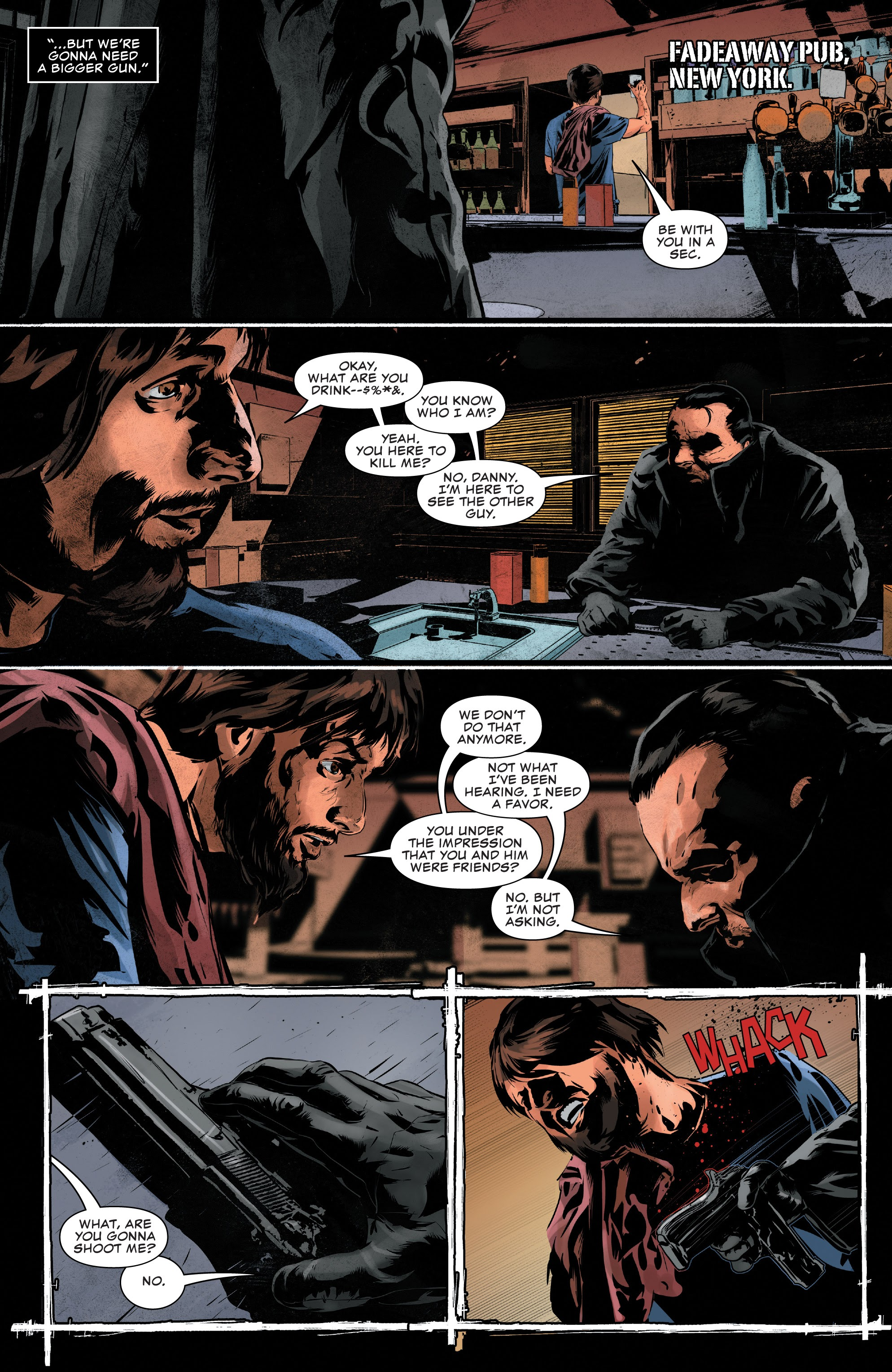 Read online The Punisher (2018) comic -  Issue #14 - 19
