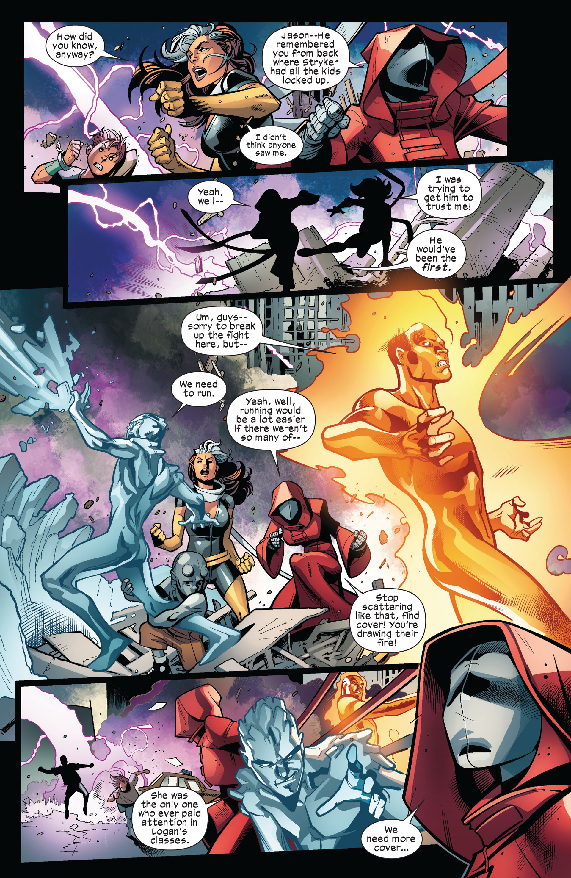 Read online Ultimate Comics X-Men comic -  Issue #6 - 10