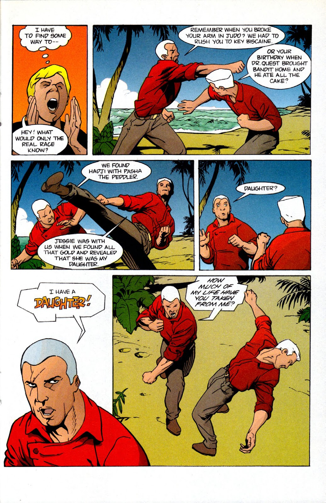 Read online The Real Adventures of Jonny Quest comic -  Issue #7 - 25