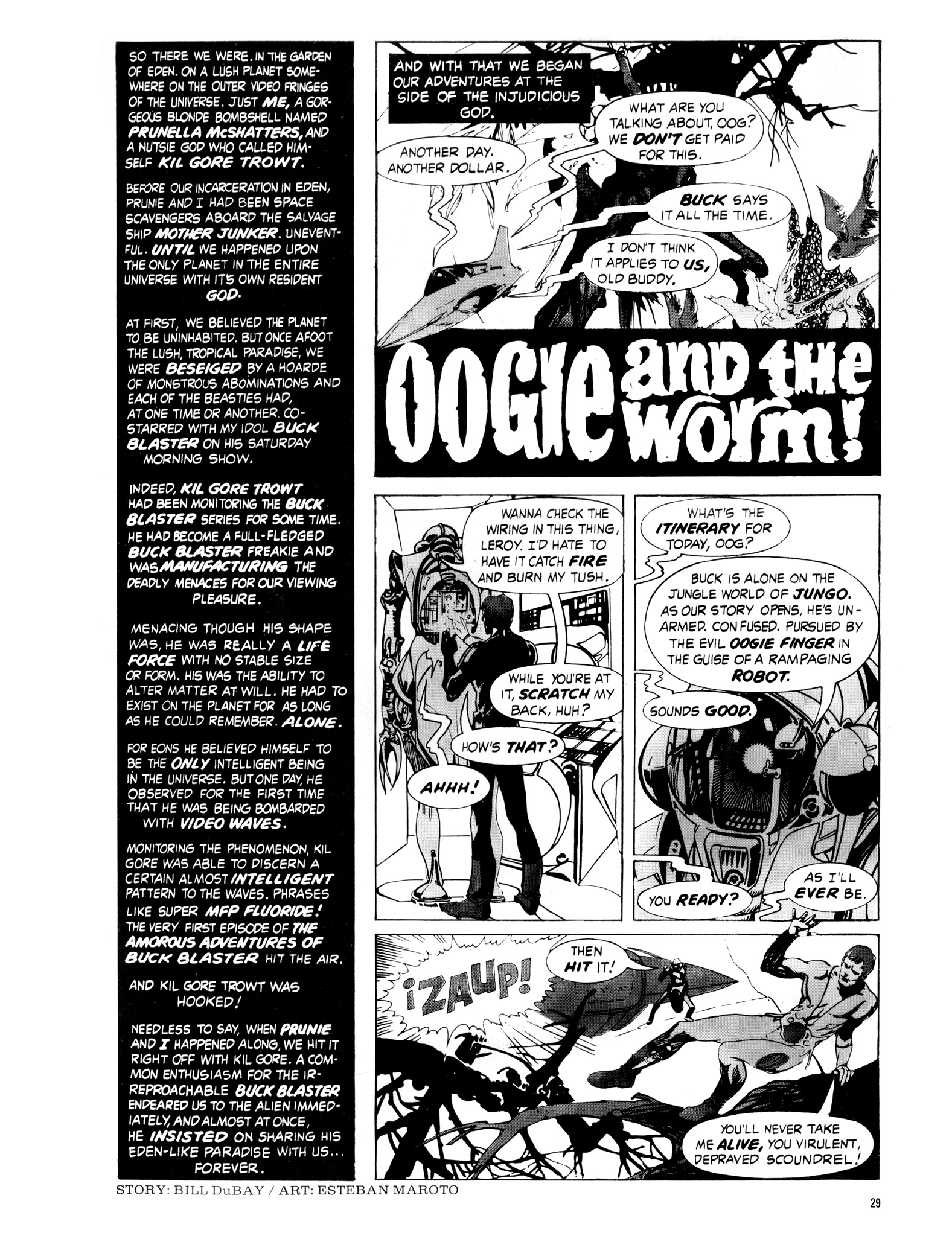 Read online Eerie Archives comic -  Issue # TPB 16 - 30