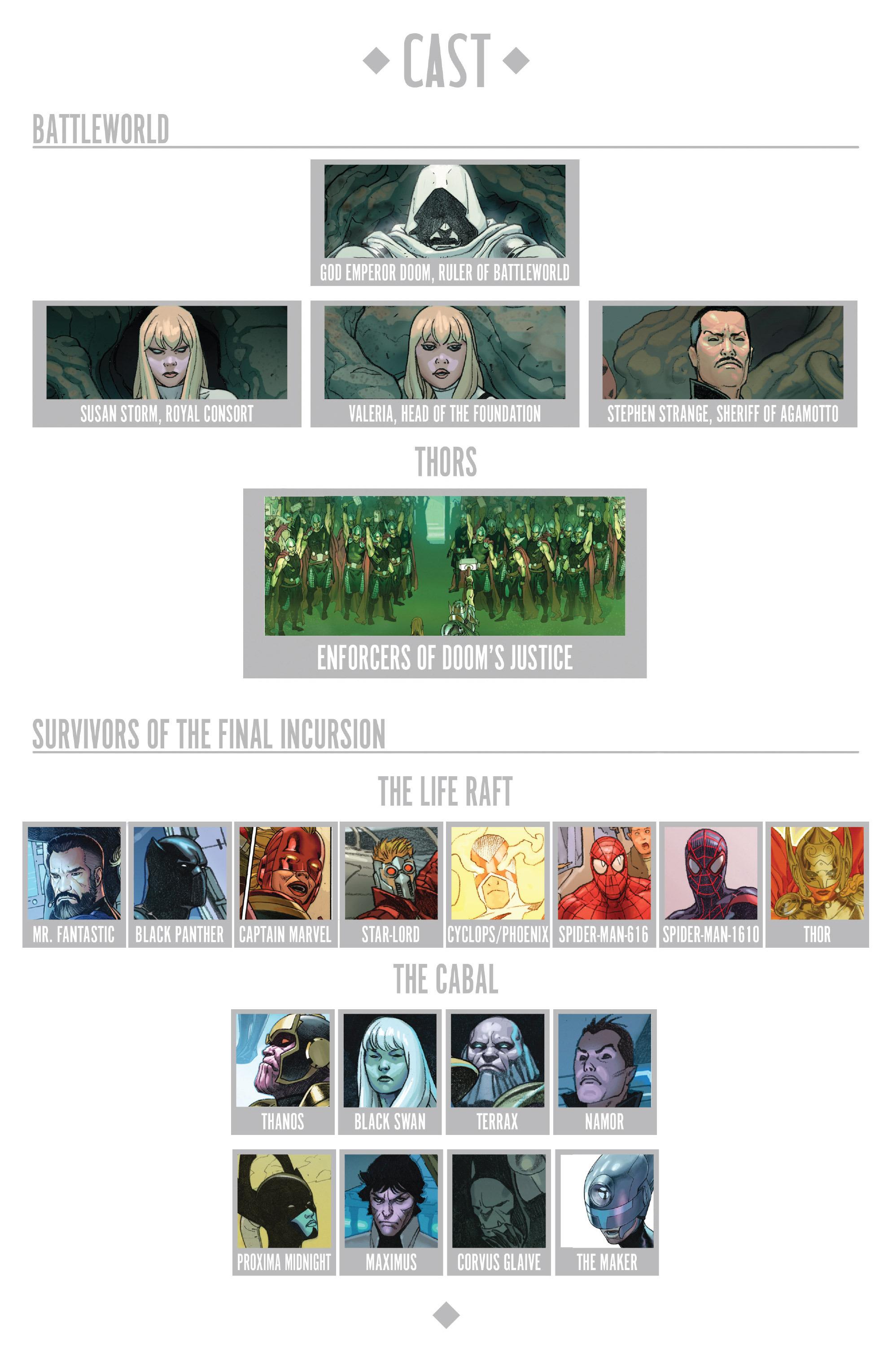 Read online Secret Wars comic -  Issue #4 - 12