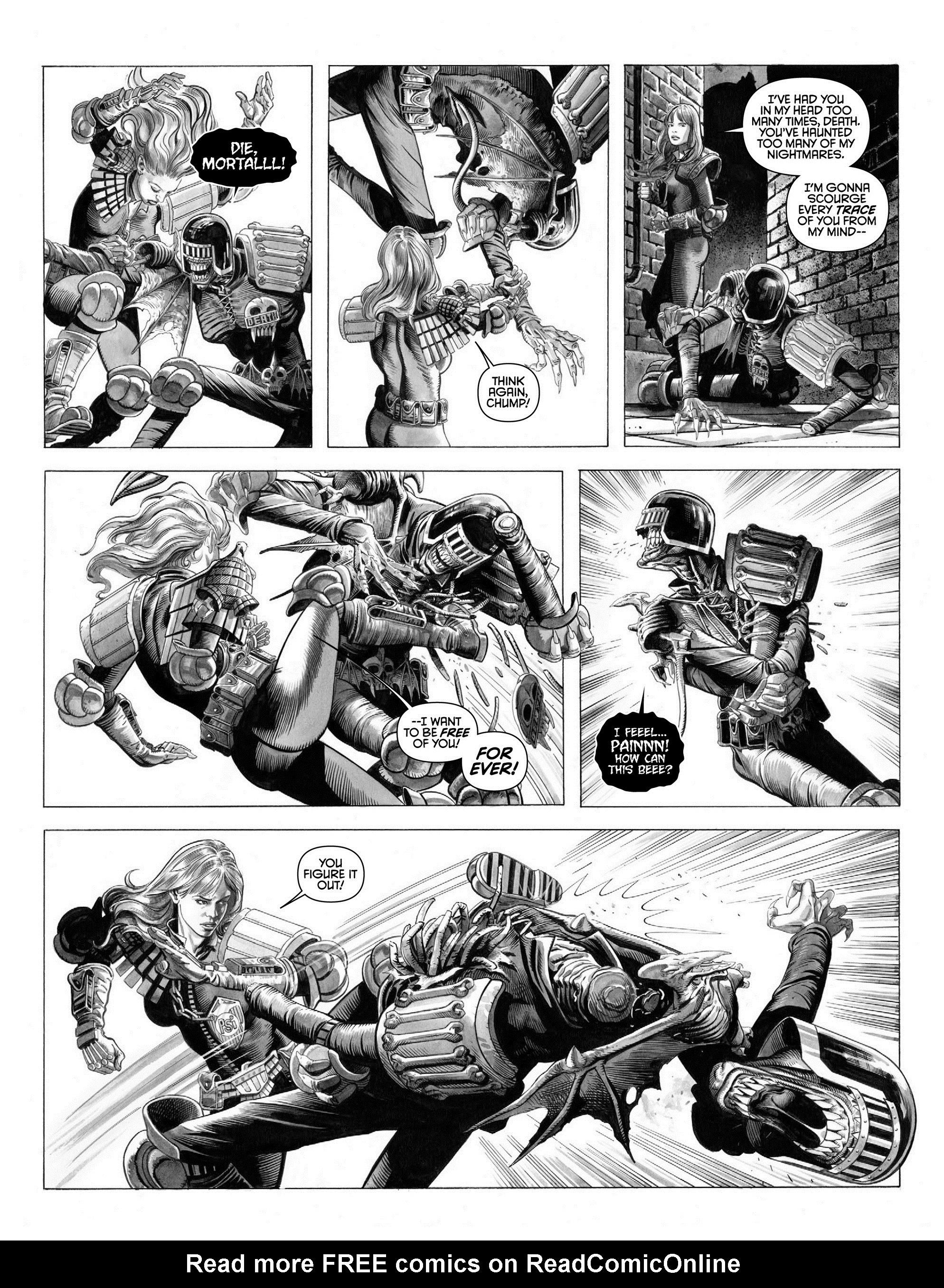 Read online 2000 AD comic -  Issue #2000 - 36