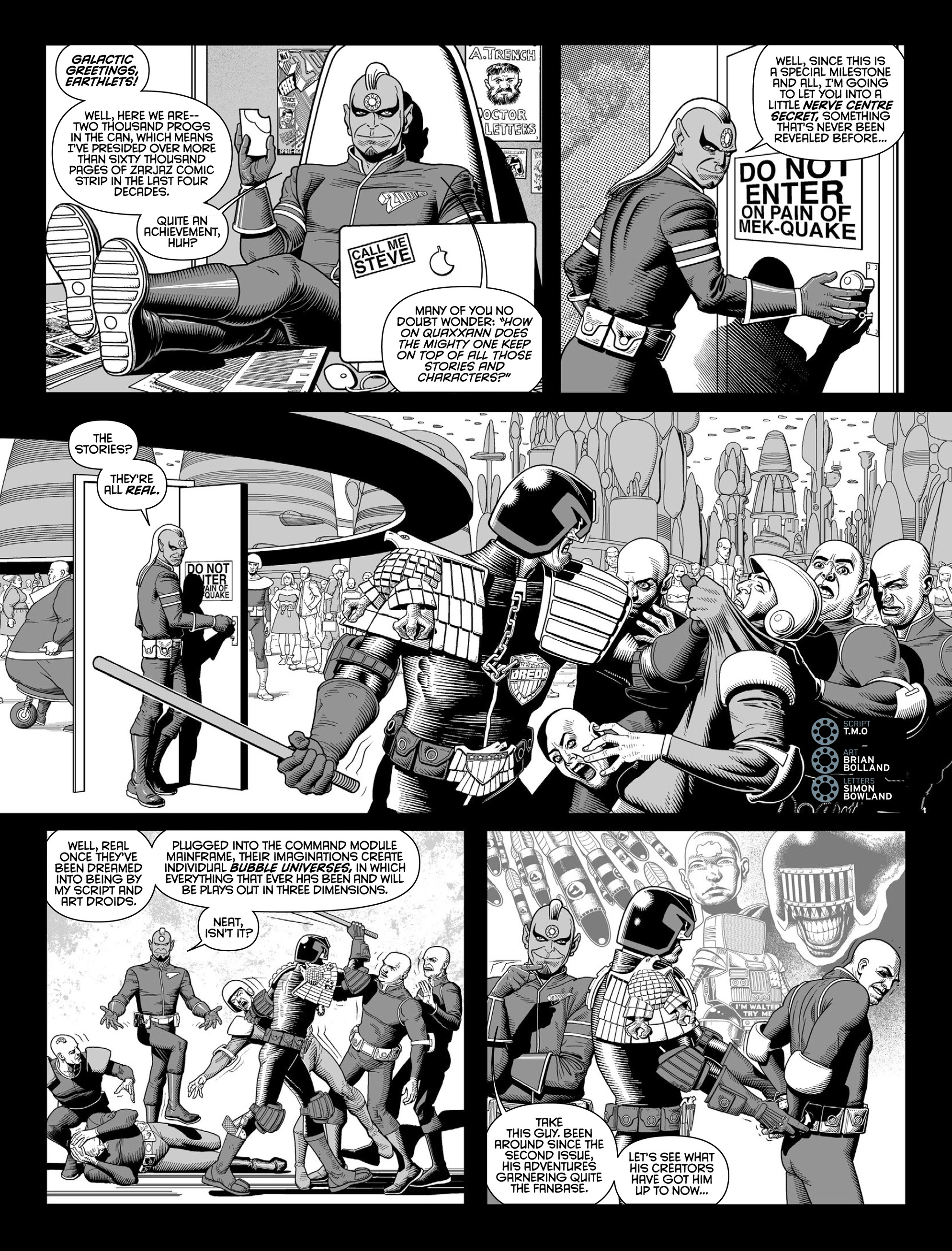 Read online 2000 AD comic -  Issue #2000 - 4
