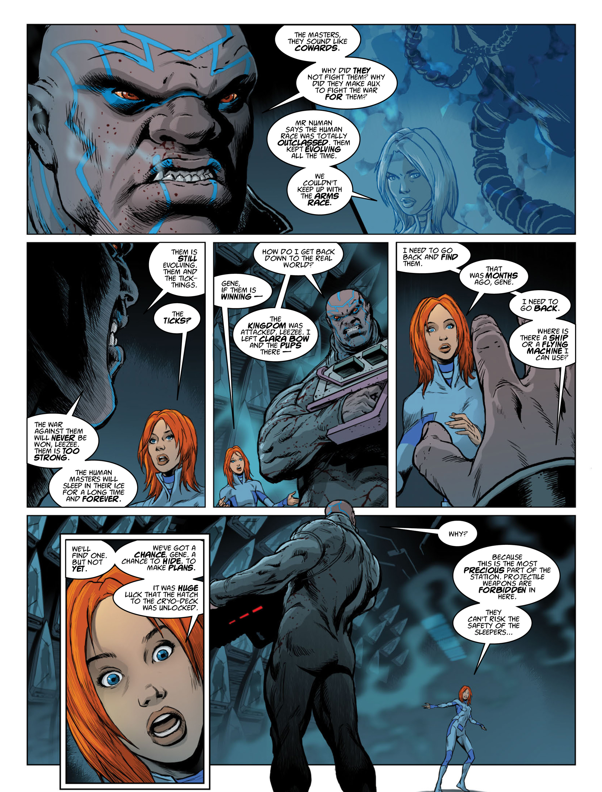 Read online 2000 AD comic -  Issue #2014 - 27