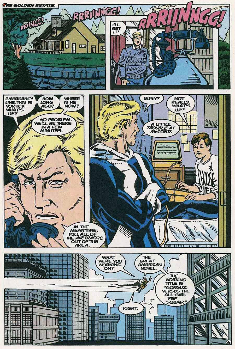 Elementals (1984) issue 18 - Page 21
