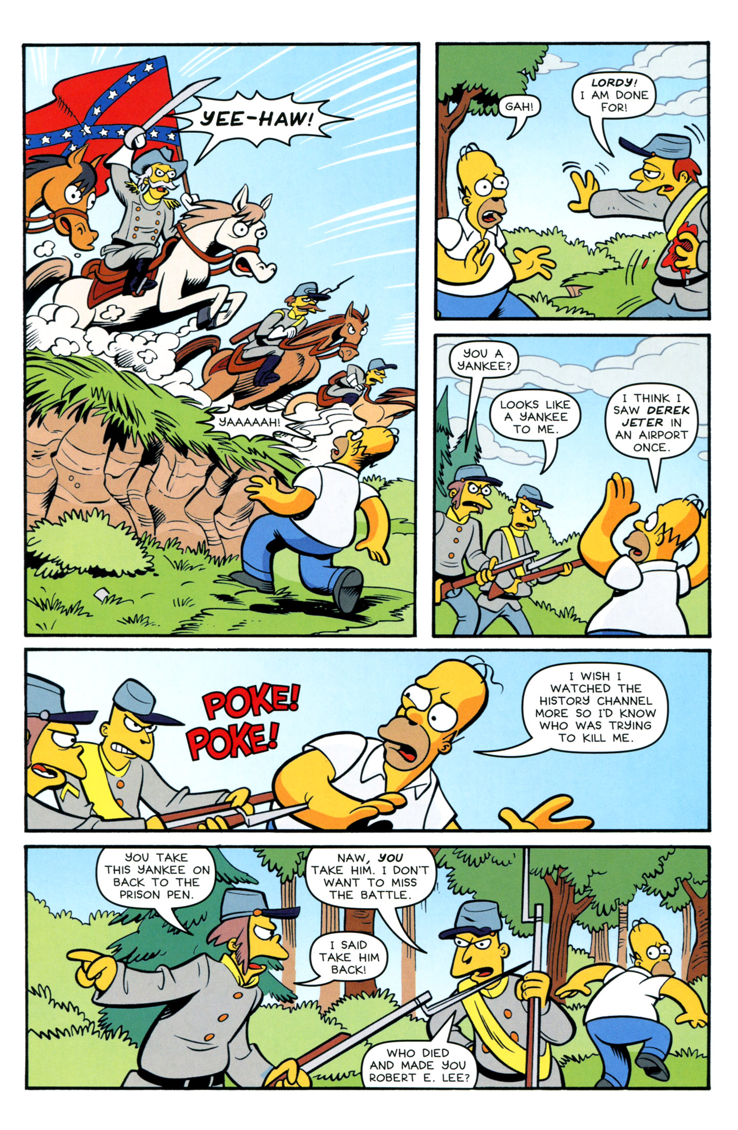 Read online Simpsons Comics comic -  Issue #195 - 16
