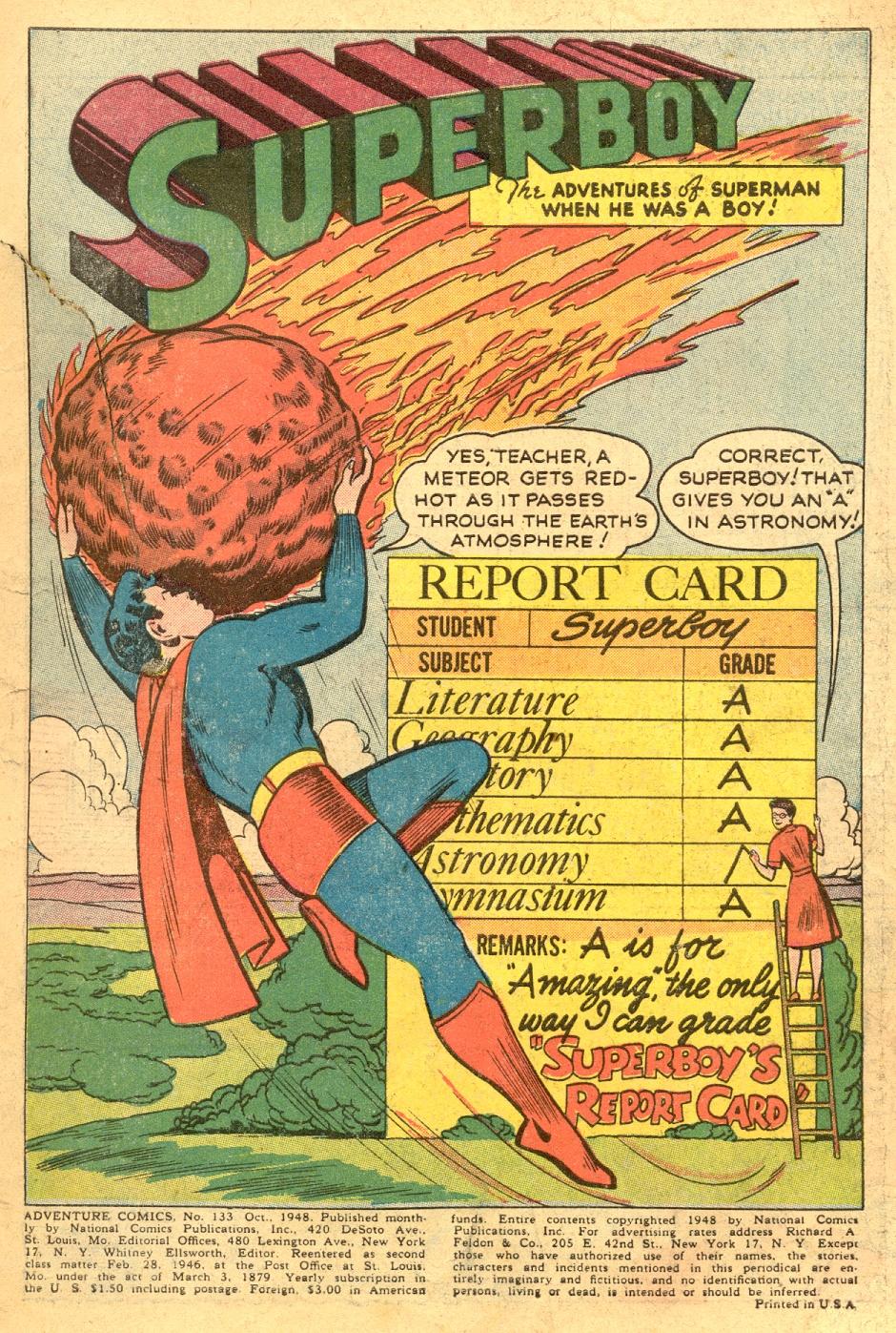 Read online Adventure Comics (1938) comic -  Issue #133 - 3
