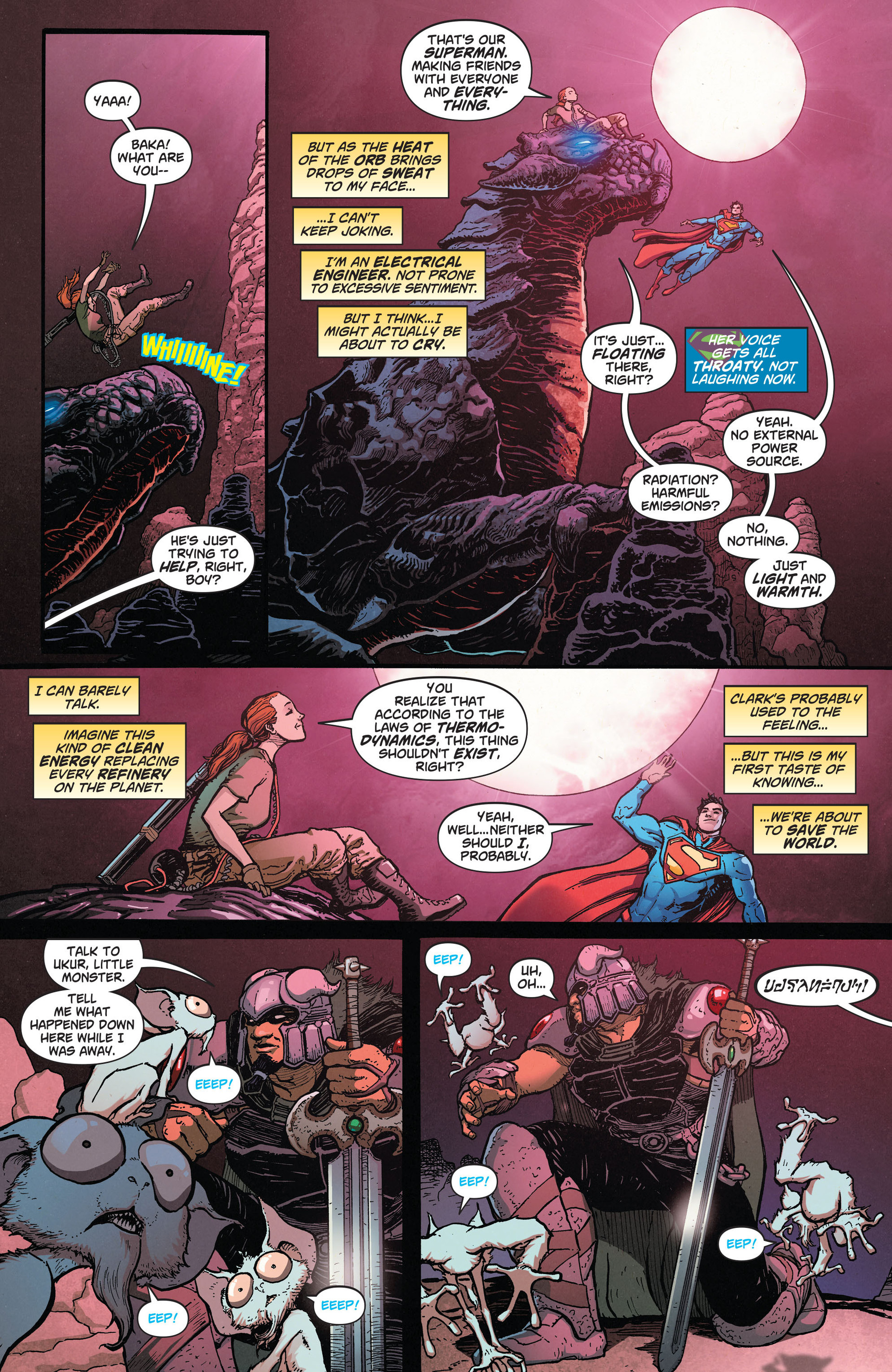 Read online Action Comics (2011) comic -  Issue #28 - 4