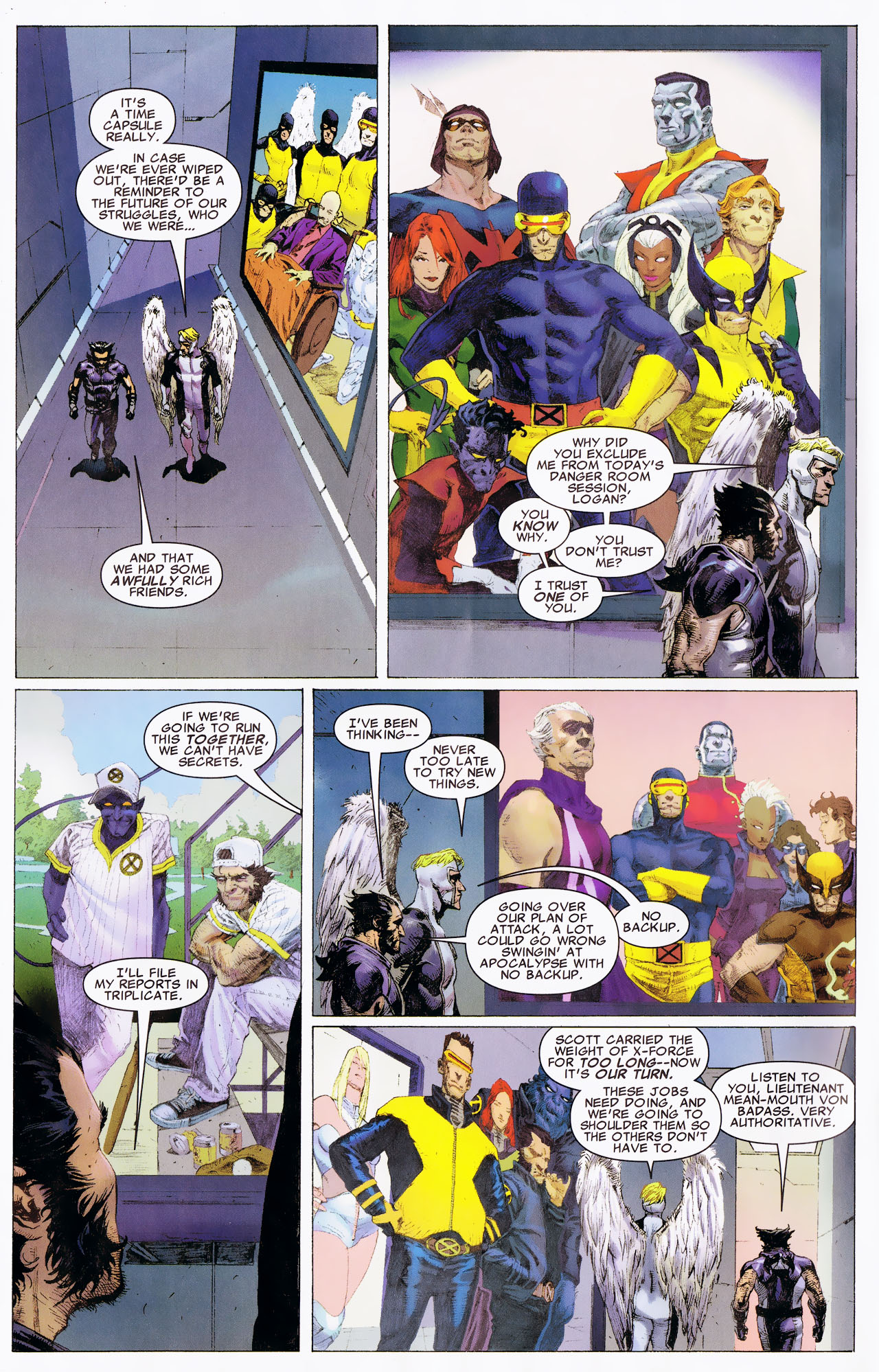 Read online Uncanny X-Force: The Apocalypse Solution comic -  Issue # Full - 36