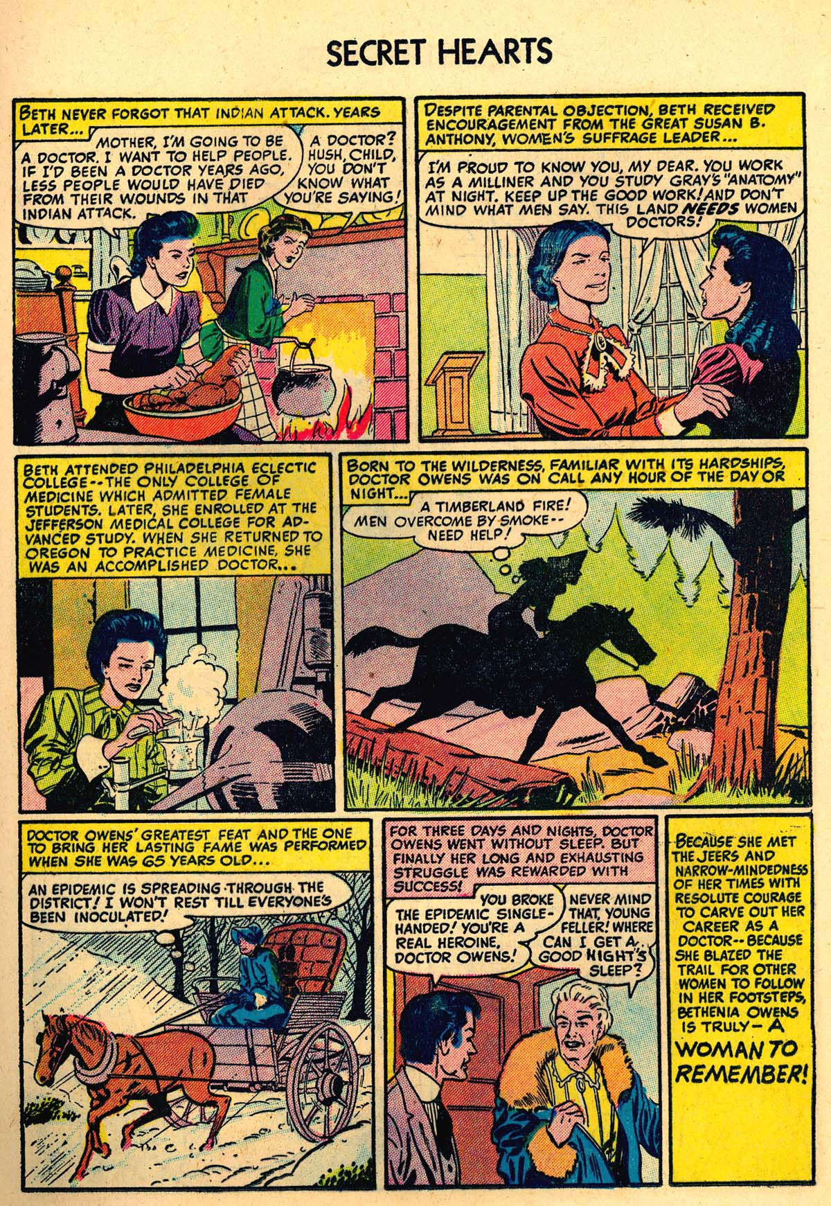 Read online Secret Hearts comic -  Issue #35 - 17