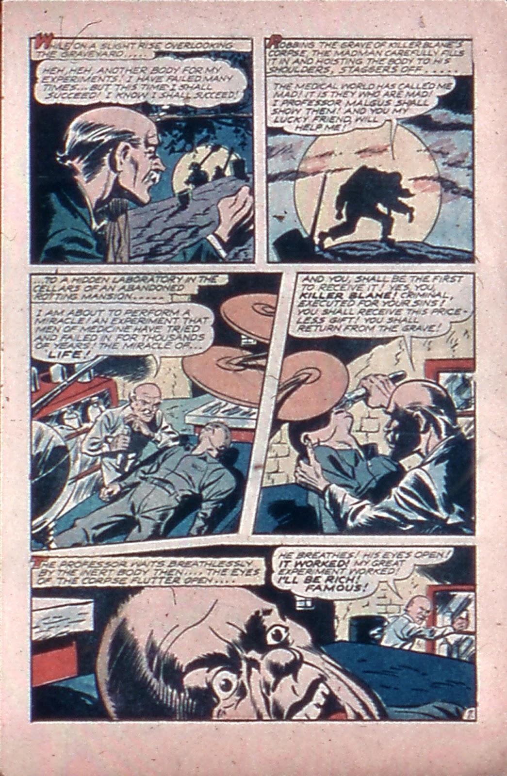 Read online Mystic Comics (1944) comic -  Issue #4 - 9