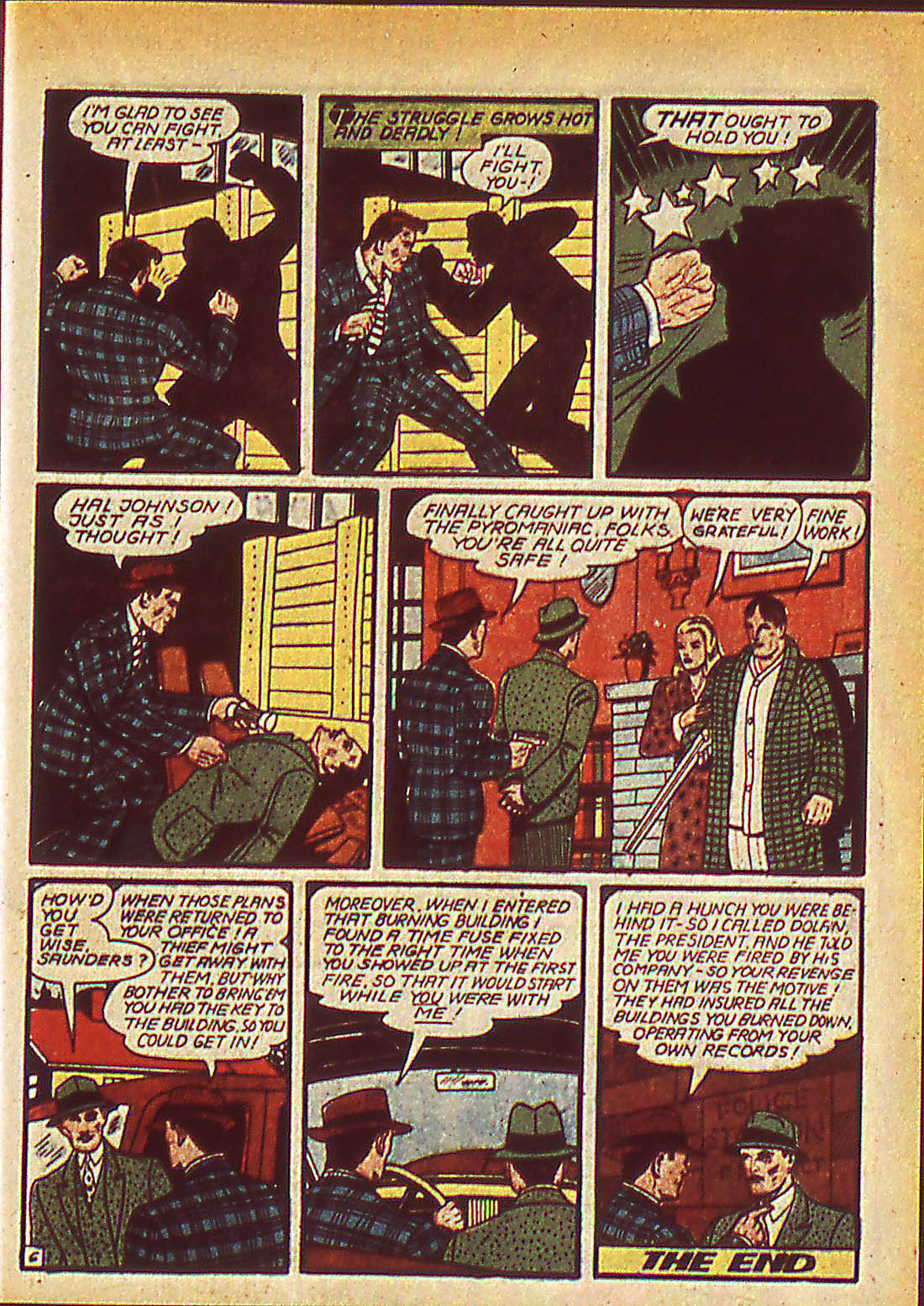 Read online Detective Comics (1937) comic -  Issue #42 - 43
