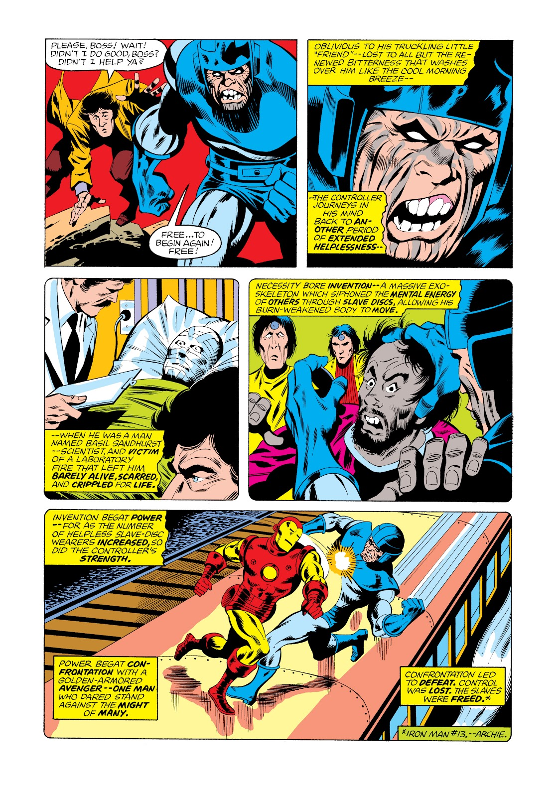 Read online Marvel Masterworks: The Invincible Iron Man comic -  Issue # TPB 11 (Part 2) - 97