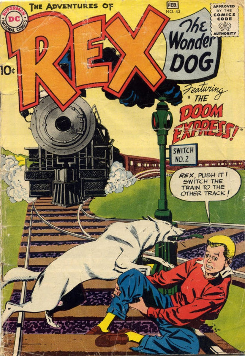 The Adventures of Rex the Wonder Dog issue 43 - Page 1