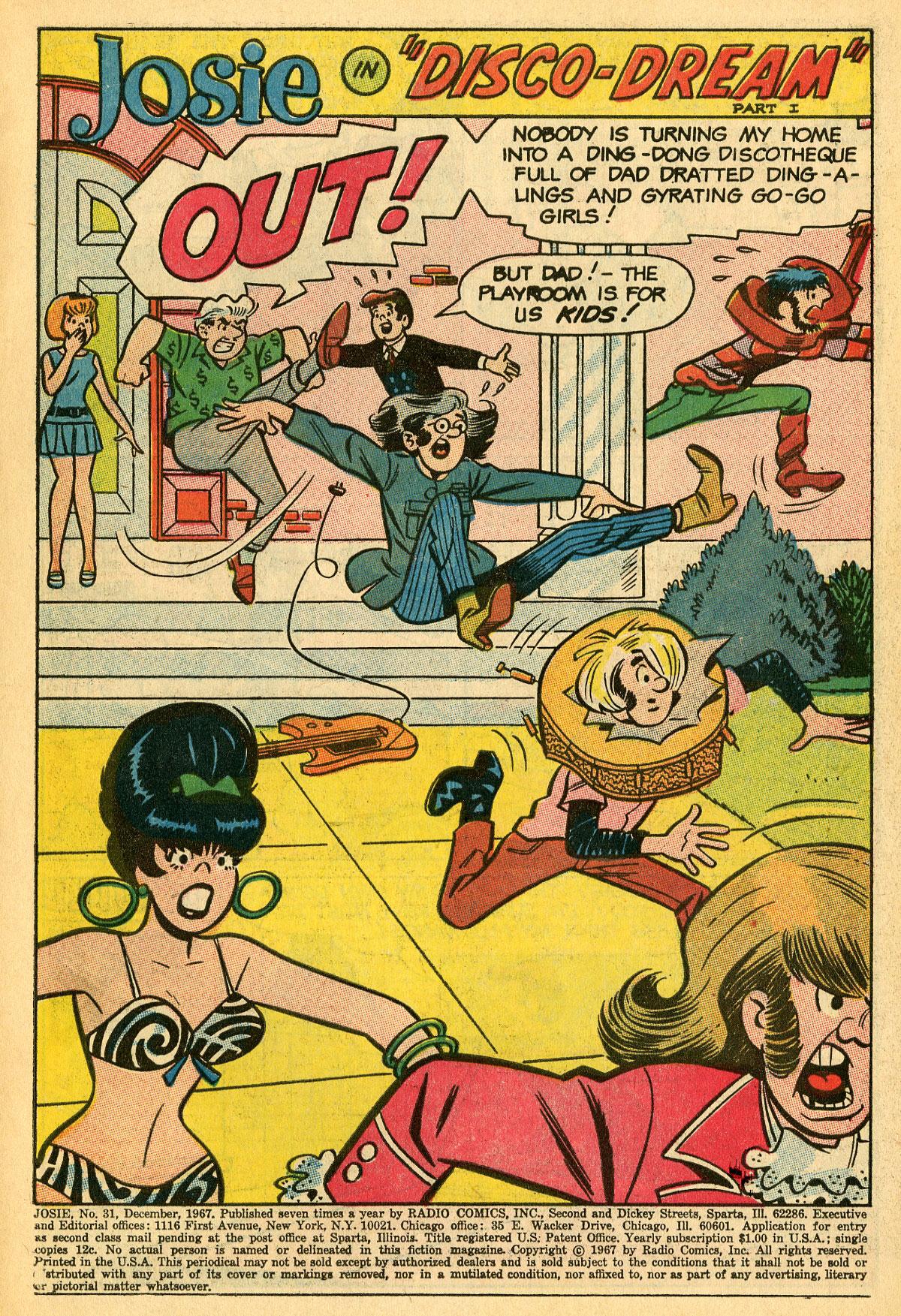 Read online She's Josie comic -  Issue #31 - 3