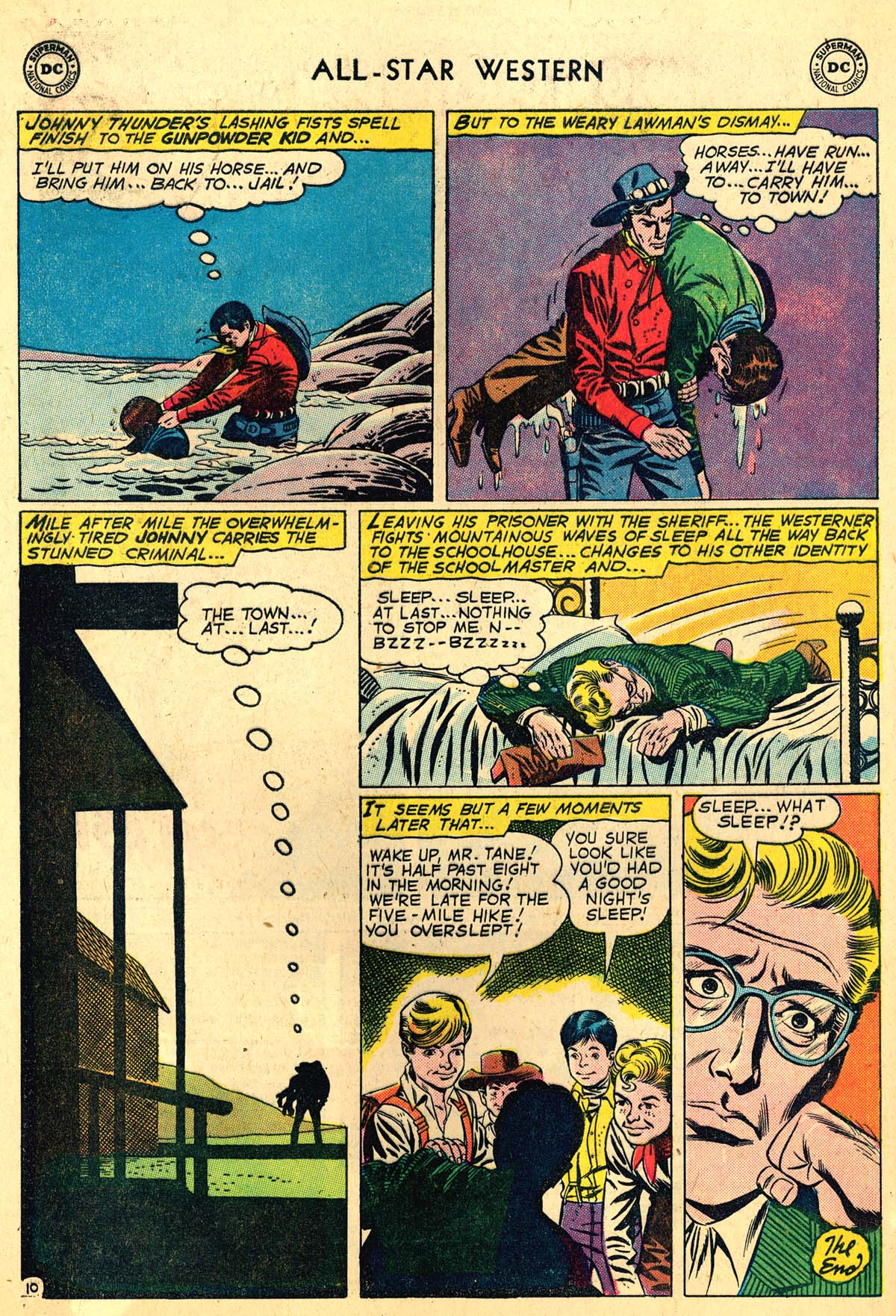 Read online All-Star Western (1951) comic -  Issue #110 - 12