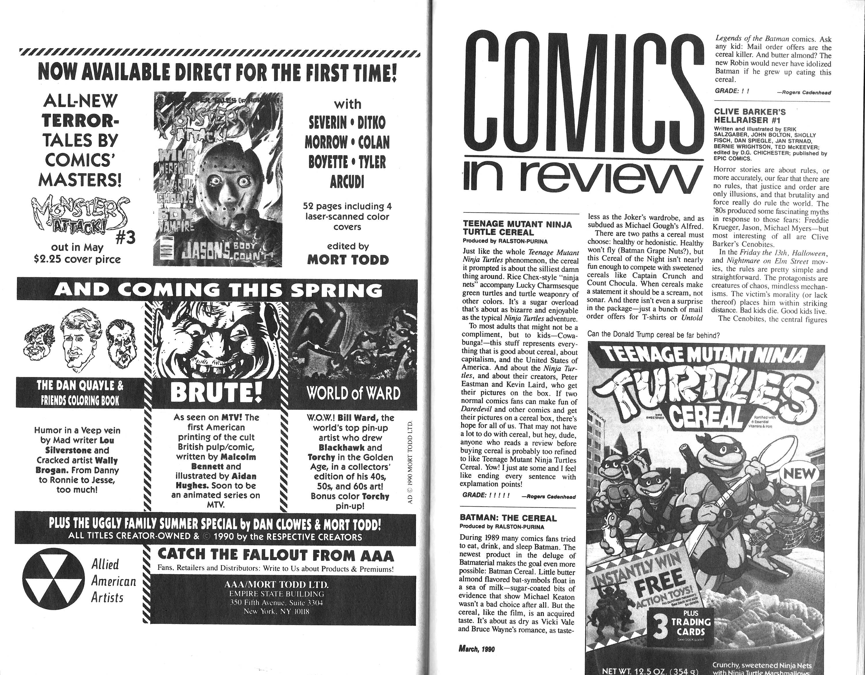 Read online Amazing Heroes comic -  Issue #177 - 36
