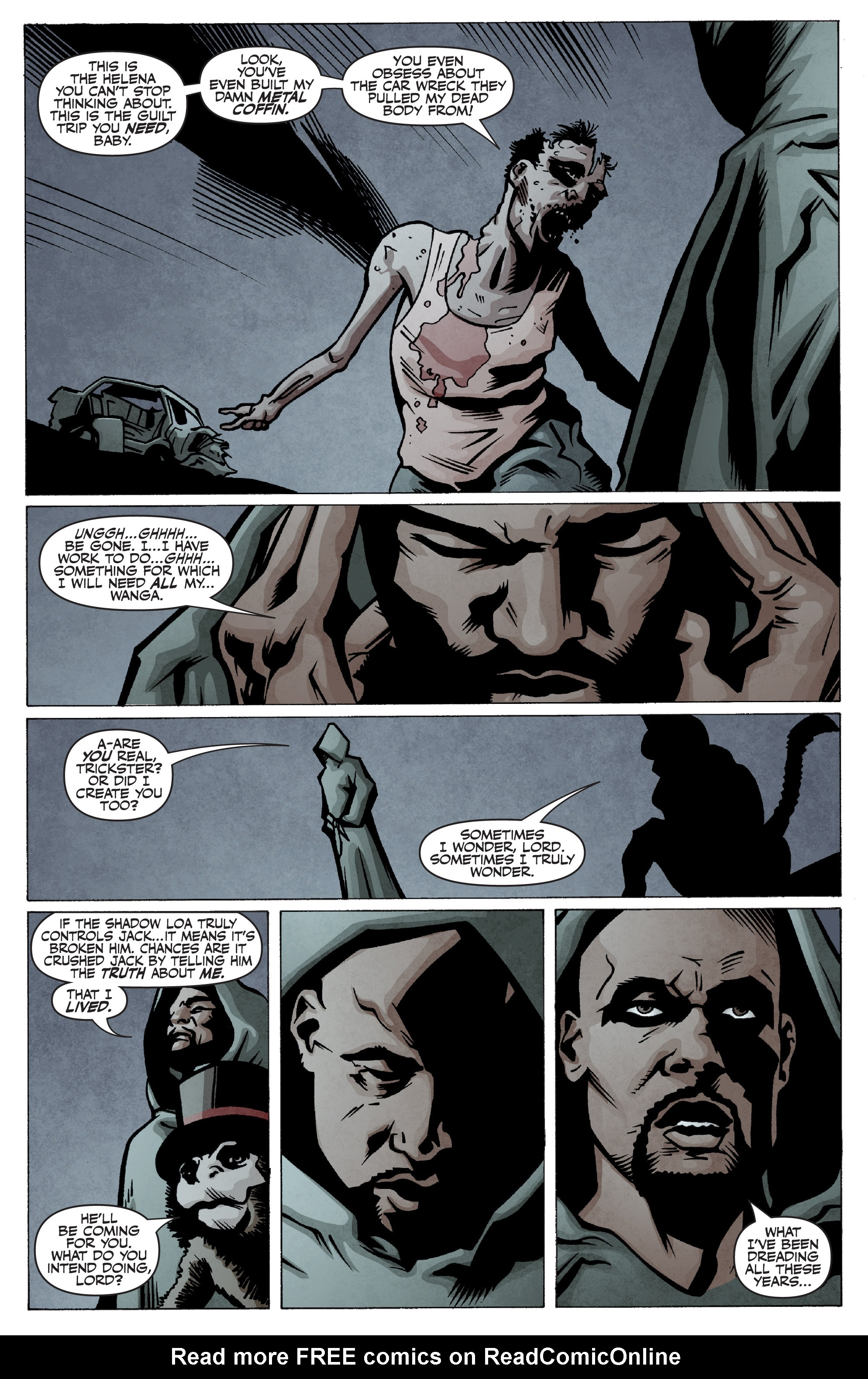 Read online Shadowman: End Times comic -  Issue #2 - 6