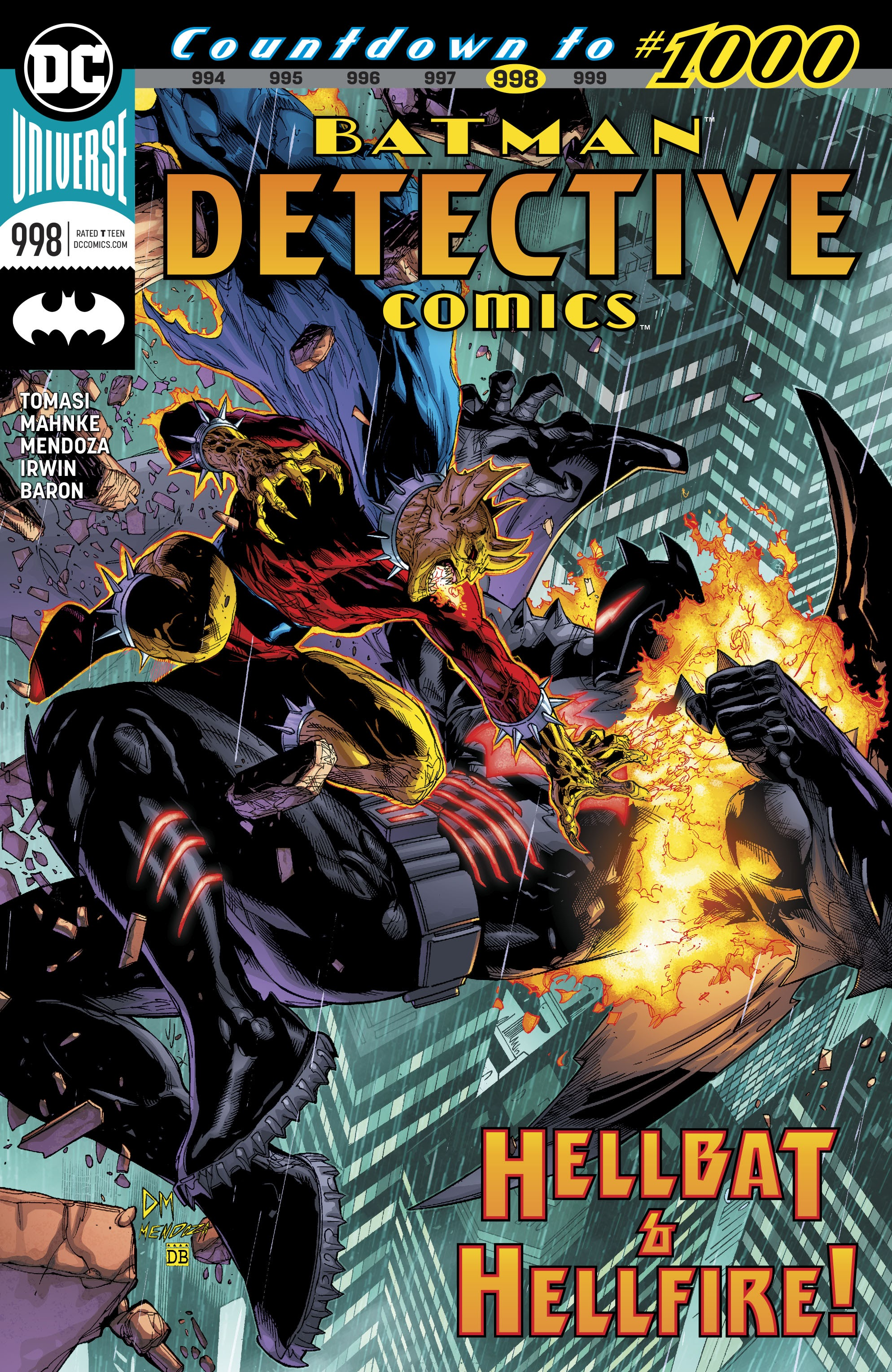 Detective Comics (2016) 998 Page 1