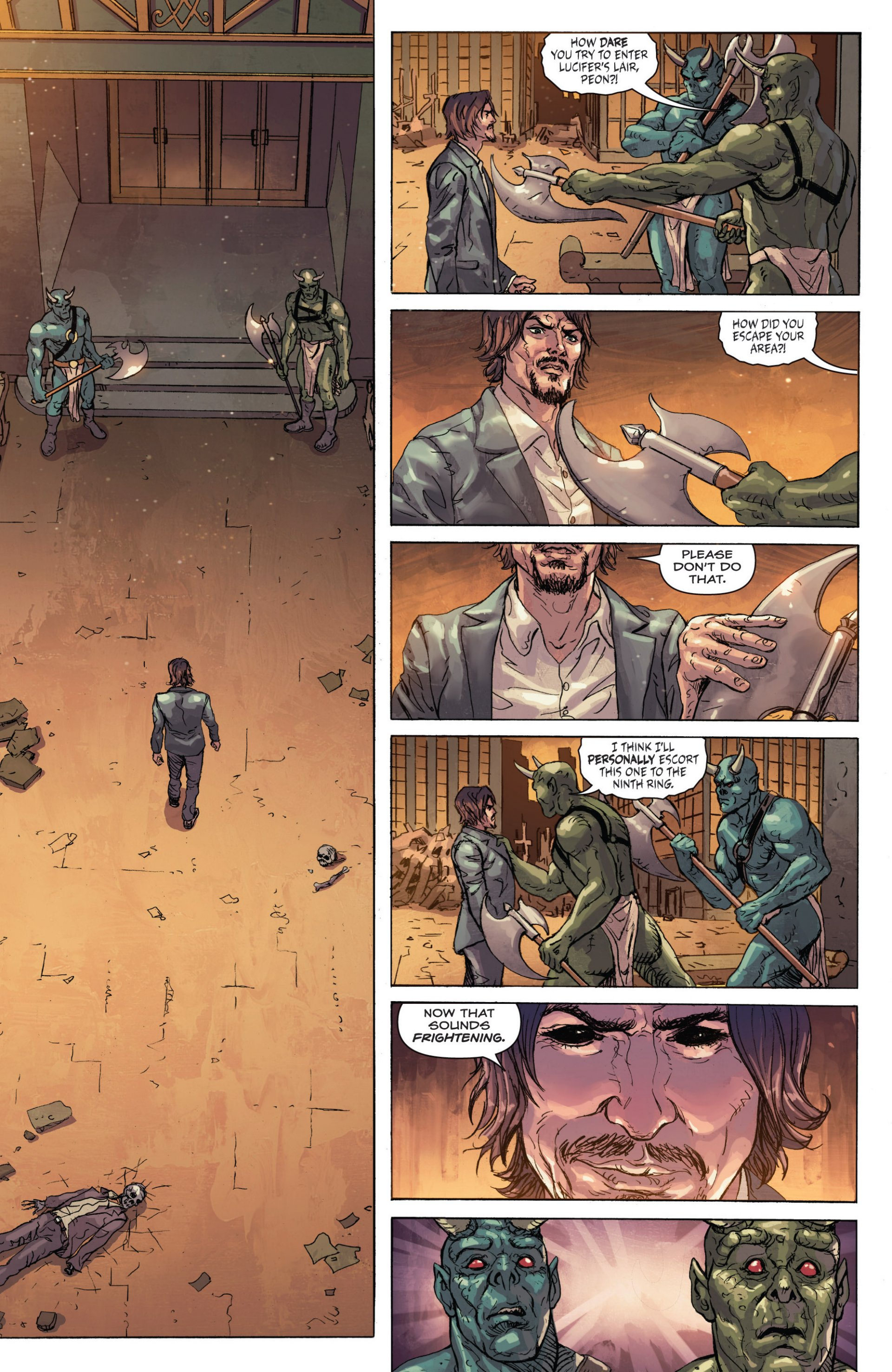 Read online Grimm Fairy Tales presents Inferno: Age of Darkness comic -  Issue # Full - 8